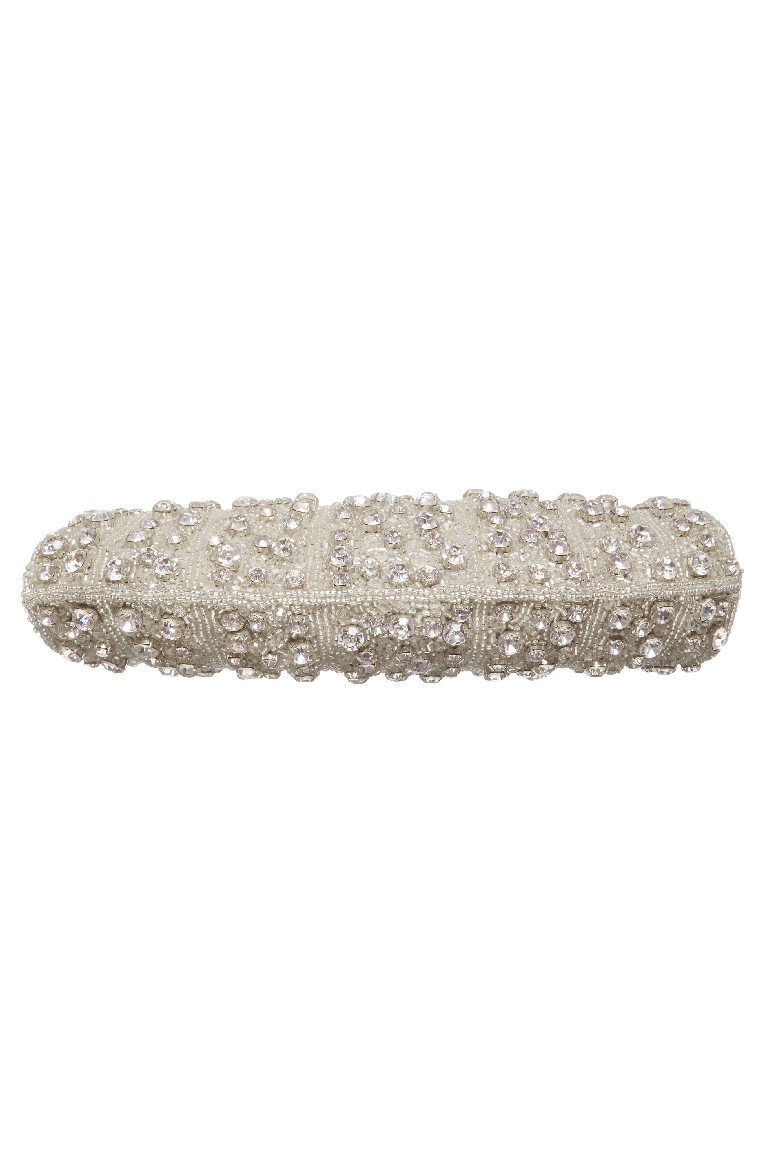 Alternate Image 5  - Nordstrom Crystal Rivoli Clutch