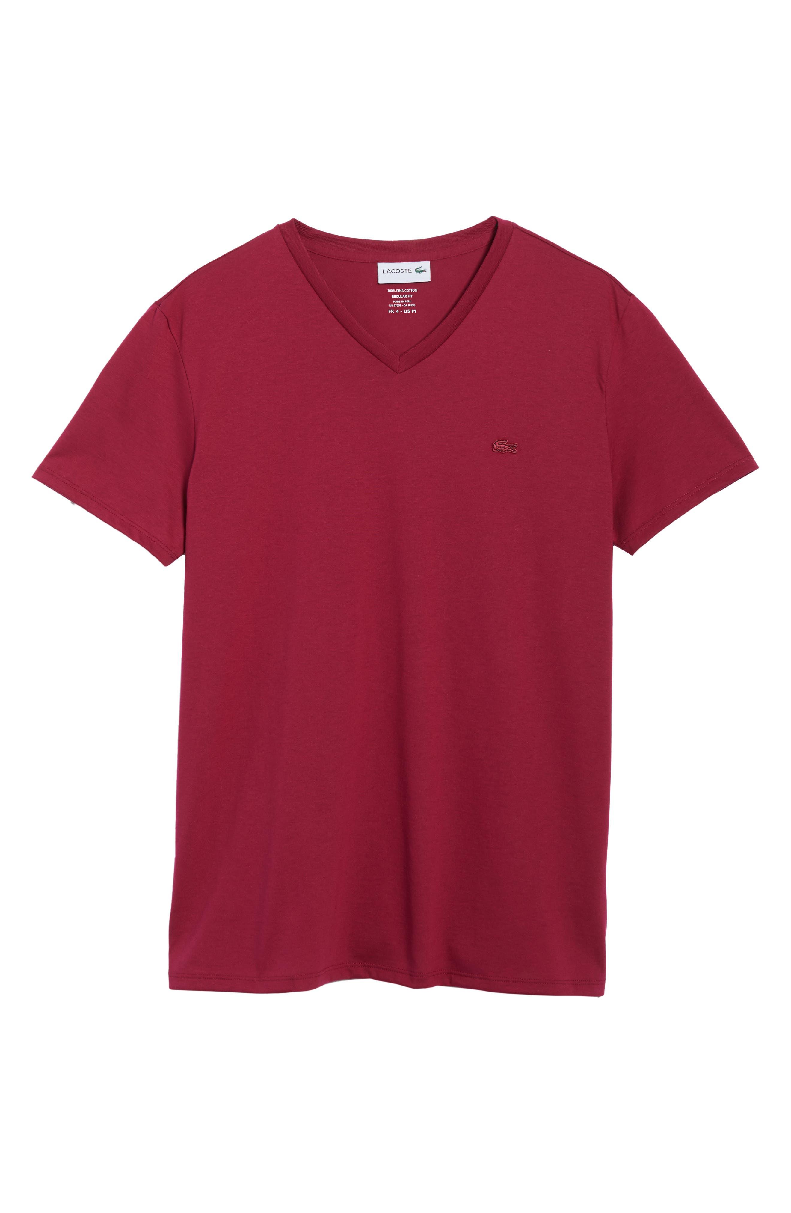 Alternate Image 6  - Lacoste Pima Cotton T-Shirt