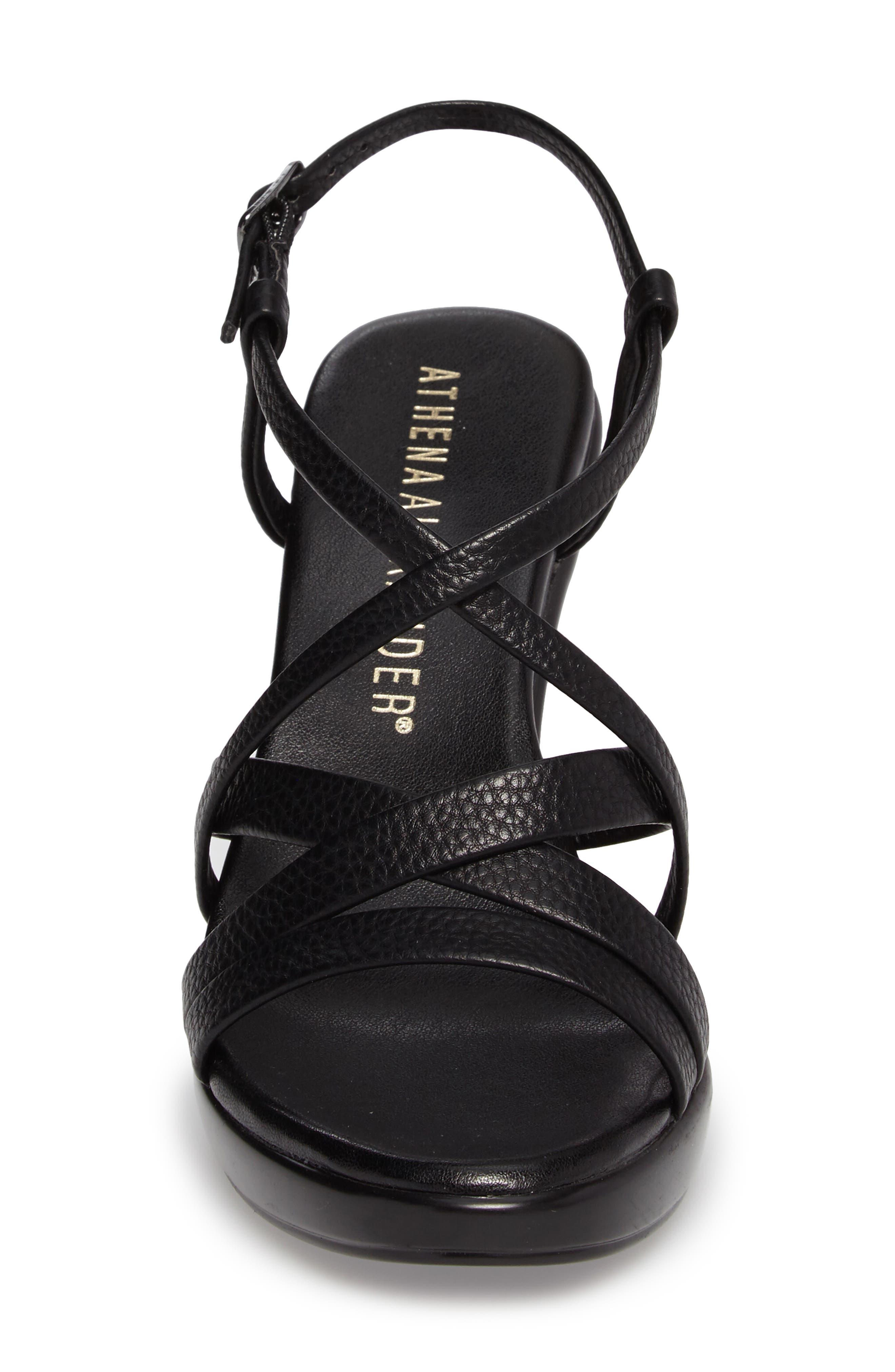 Alternate Image 4  - Athena Alexander Gabrielaa Cross Strap Sandal (Women)