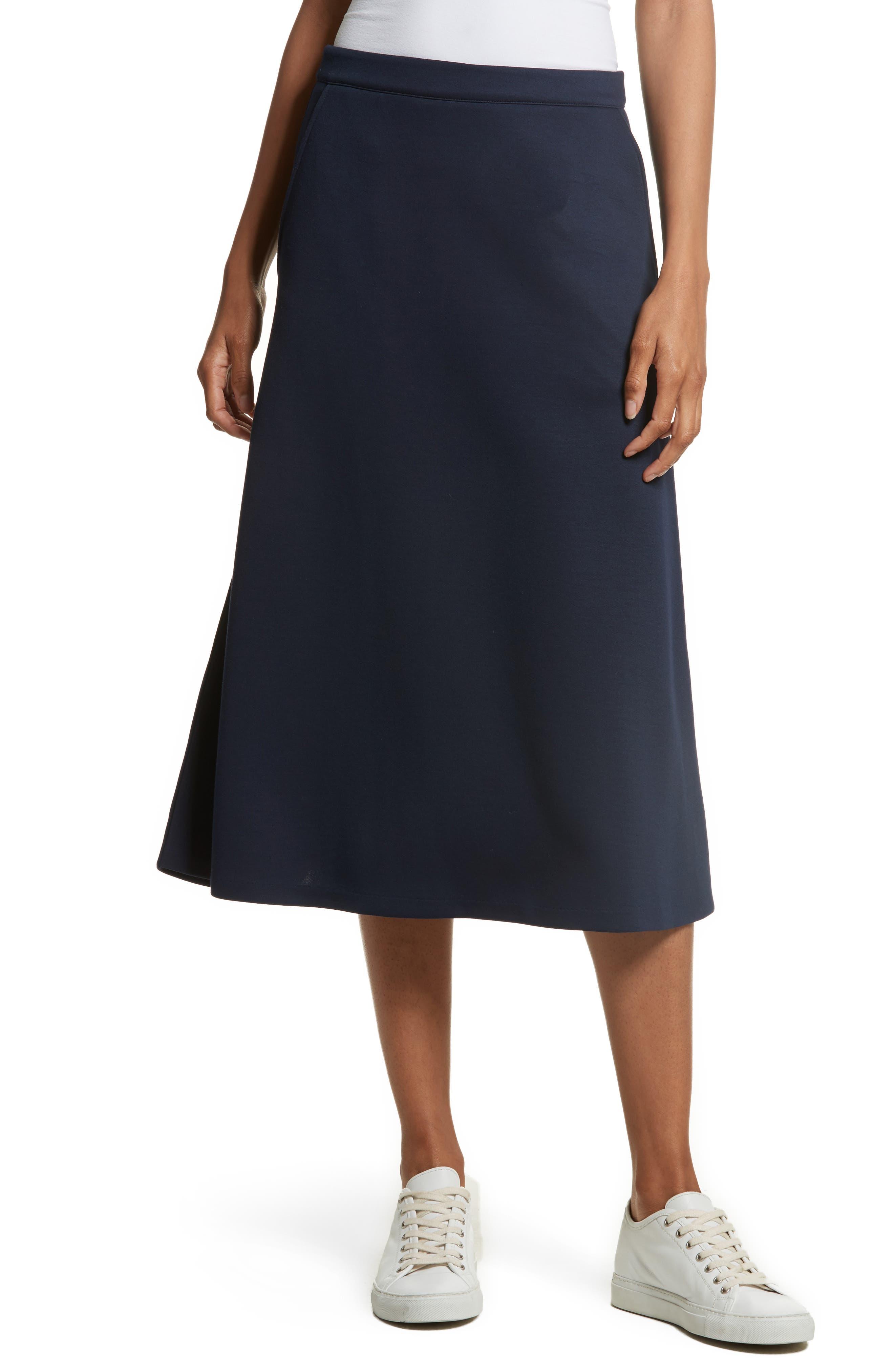 Alternate Image 1 Selected - être cécile A-Line Midi Skirt