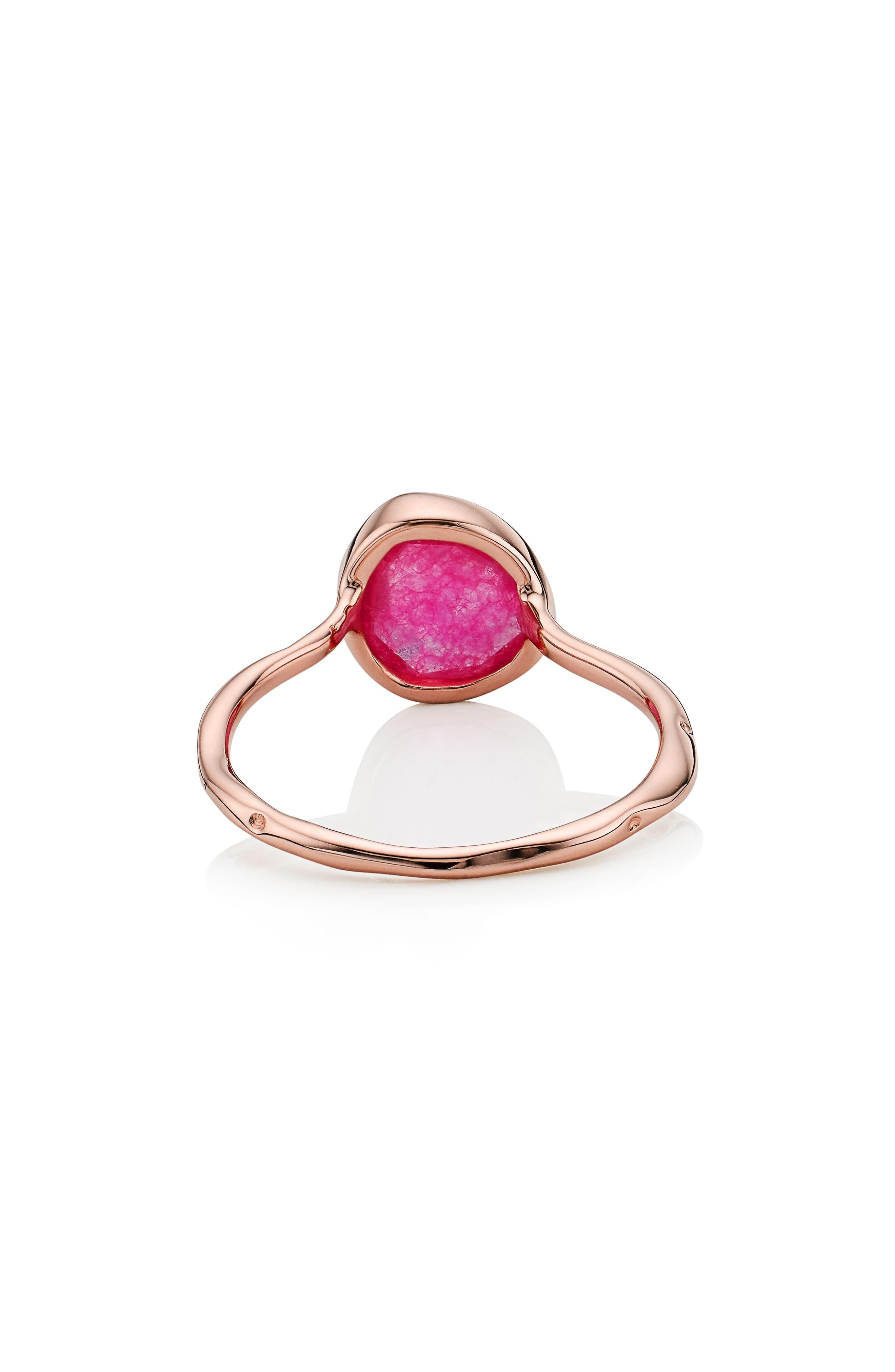 Alternate Image 3  - Monica Vinader Siren Semiprecious Stone Stacking Ring