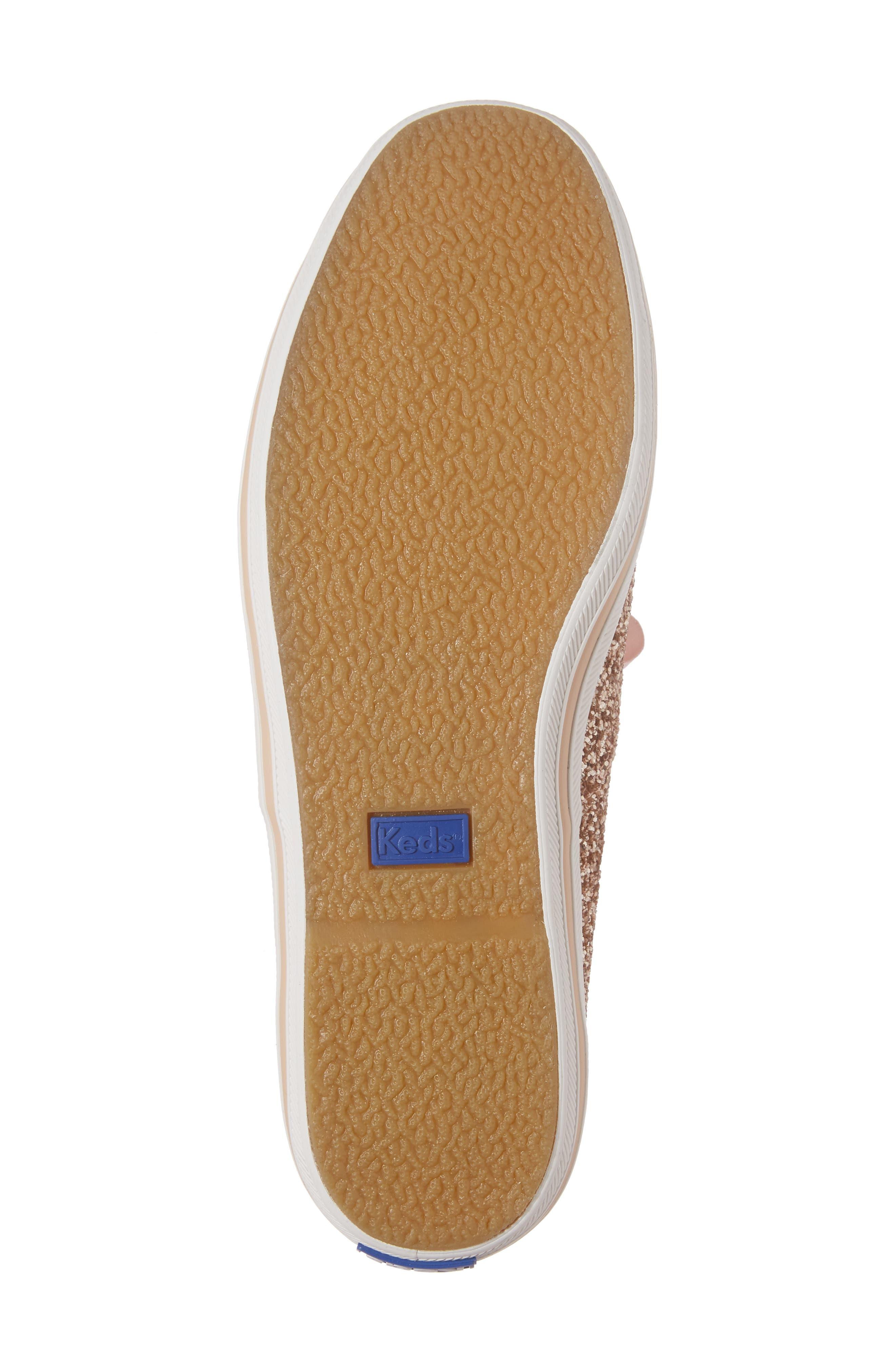 Alternate Image 6  - Keds® for kate spade new york glitter sneaker (Women)