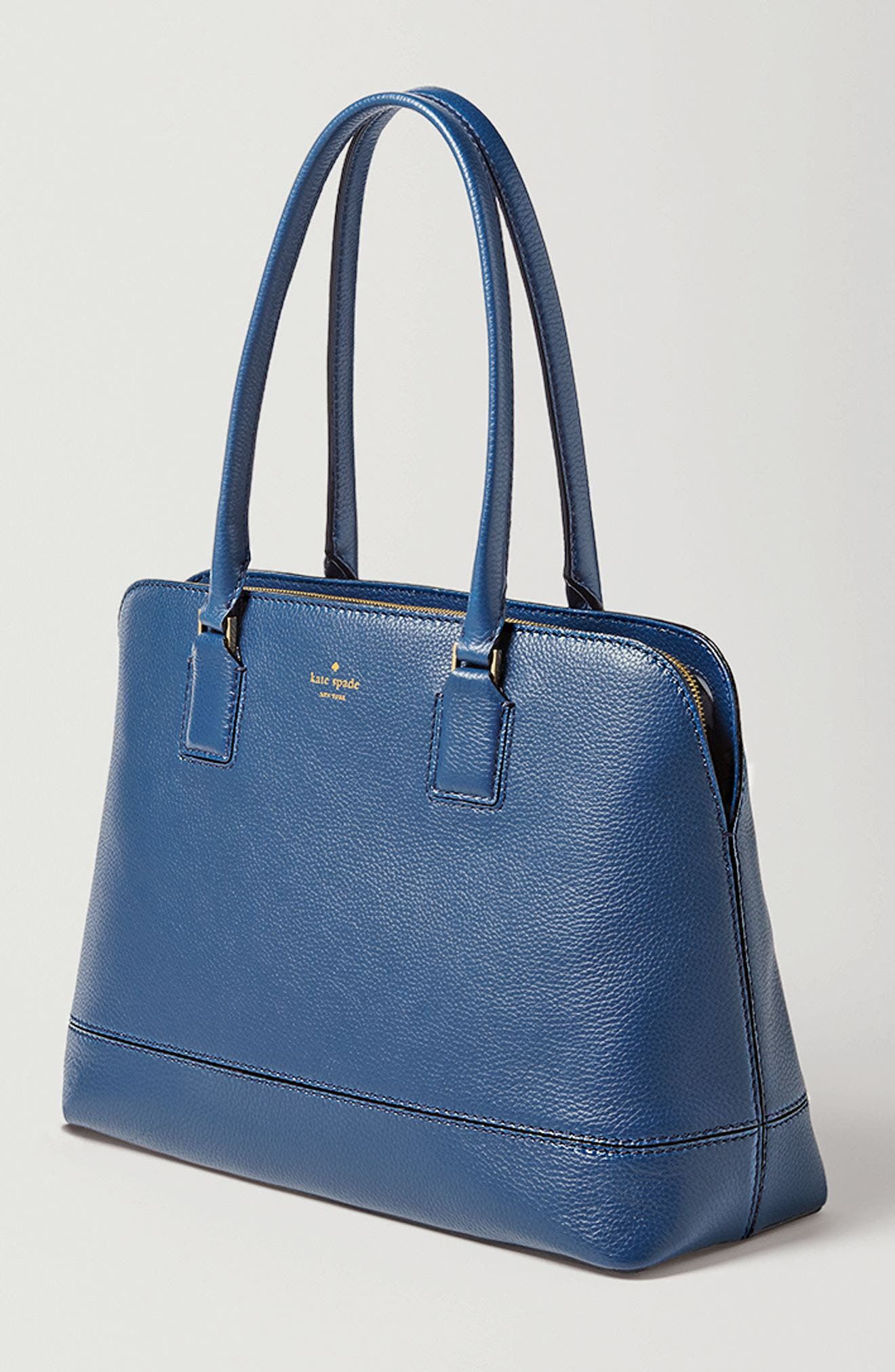 Alternate Image 8  - kate spade new york young lane - marybeth leather tote with removable laptop sleeve
