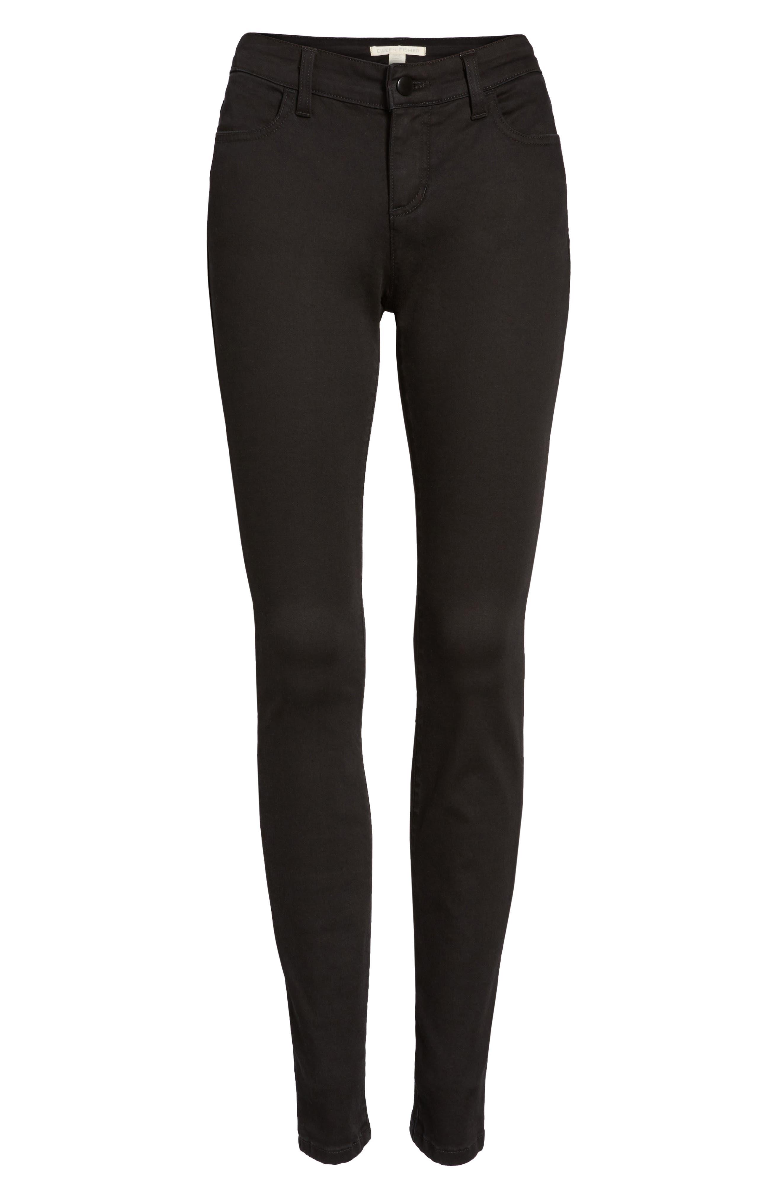 Alternate Image 6  - Eileen Fisher Stretch Skinny Jeans