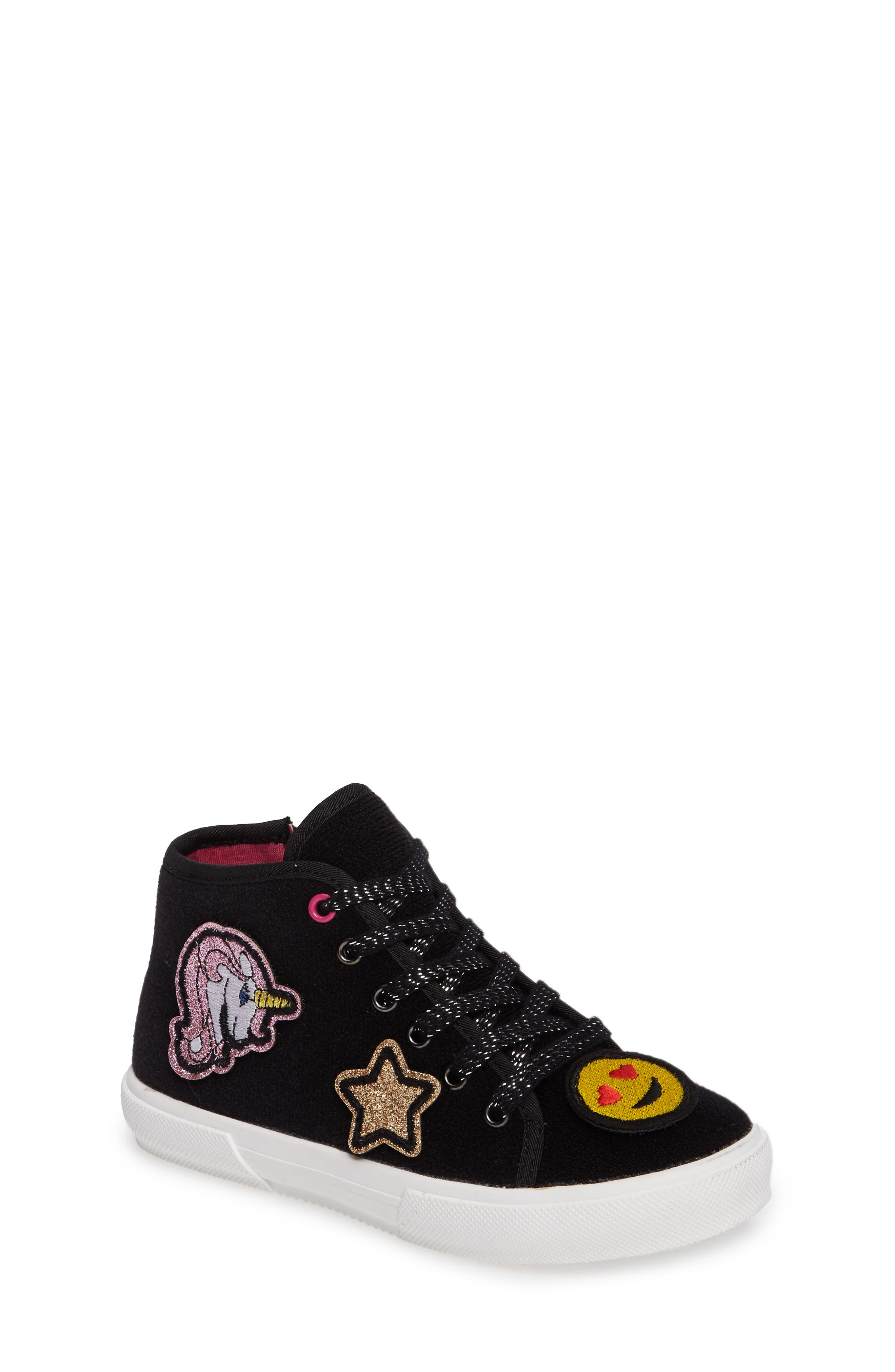 Tucker + Tate Craze Patches High Top Sneaker (Toddler, Little Kid & Big Kid)