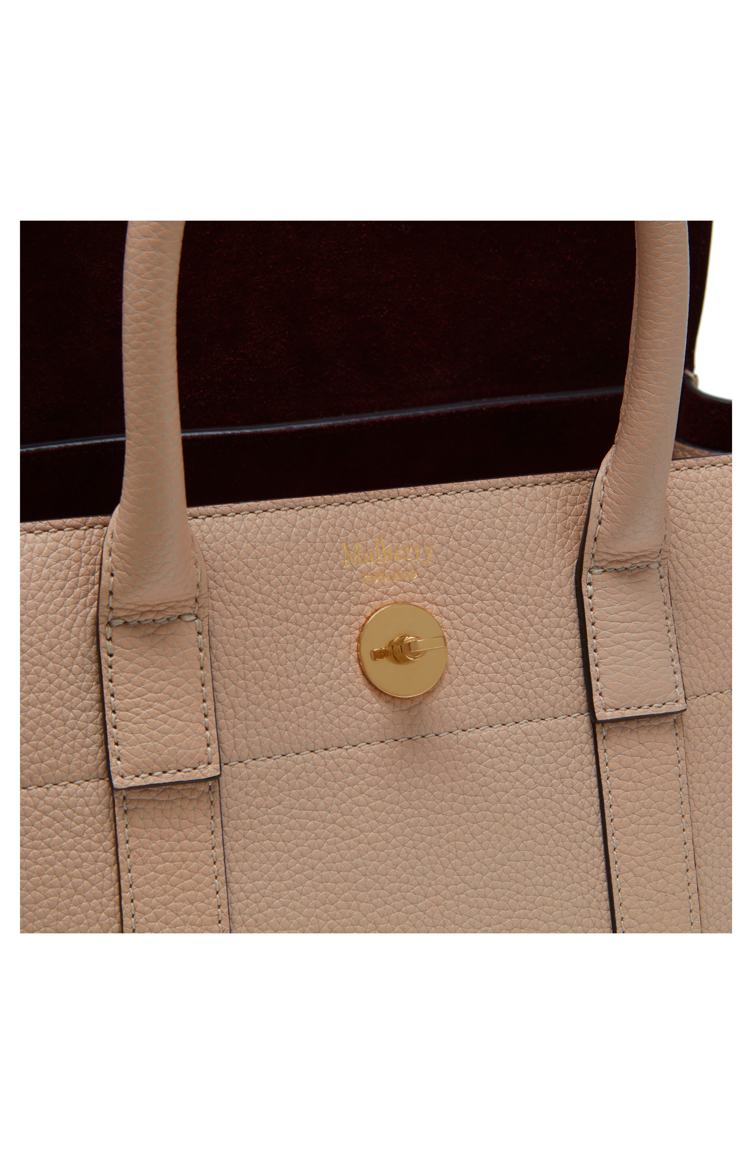 Alternate Image 5  - Mulberry Small Bayswater Leather Satchel