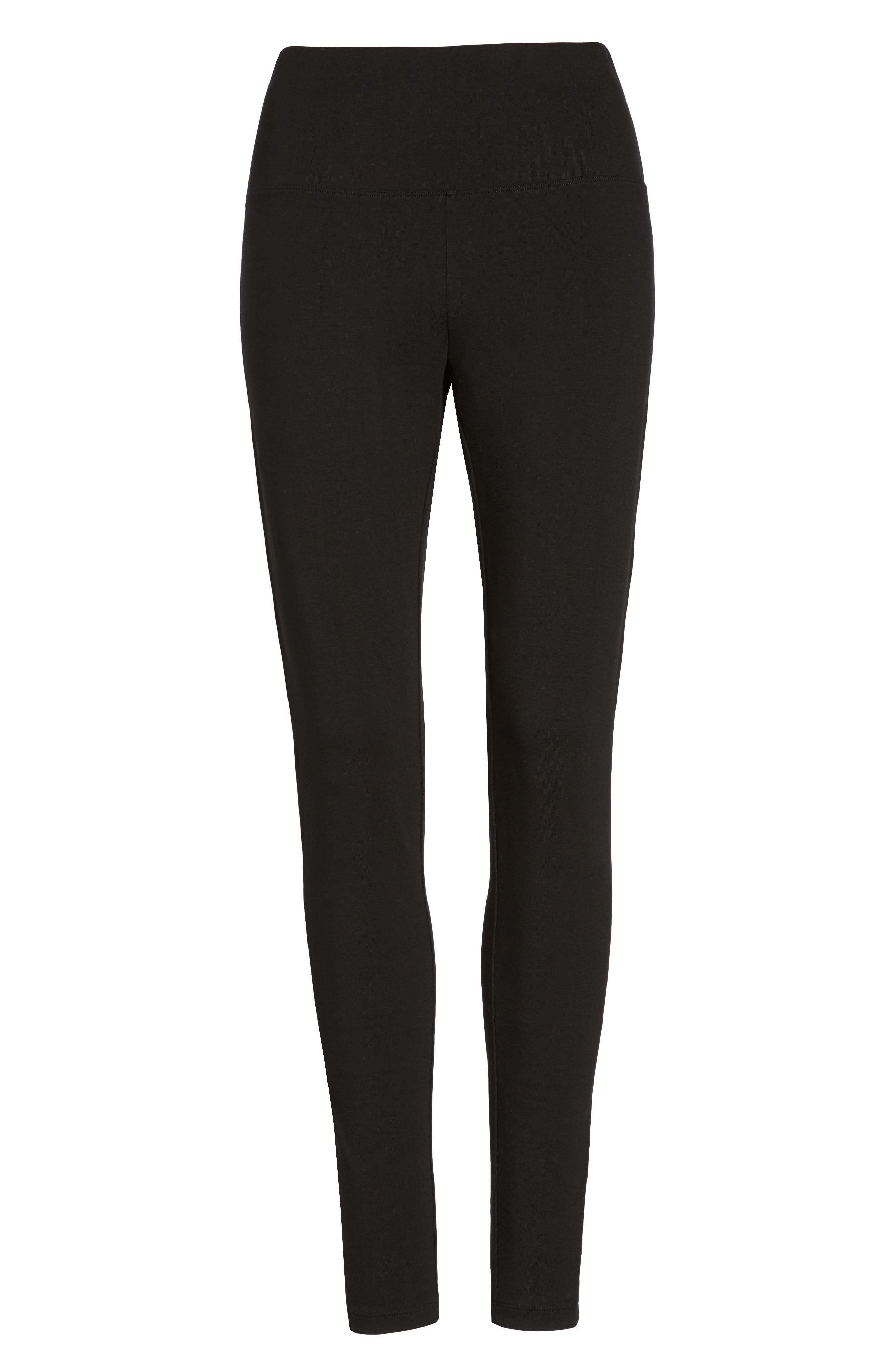 Alternate Image 6  - Caslon® High Waist Leggings (Regular & Petite)