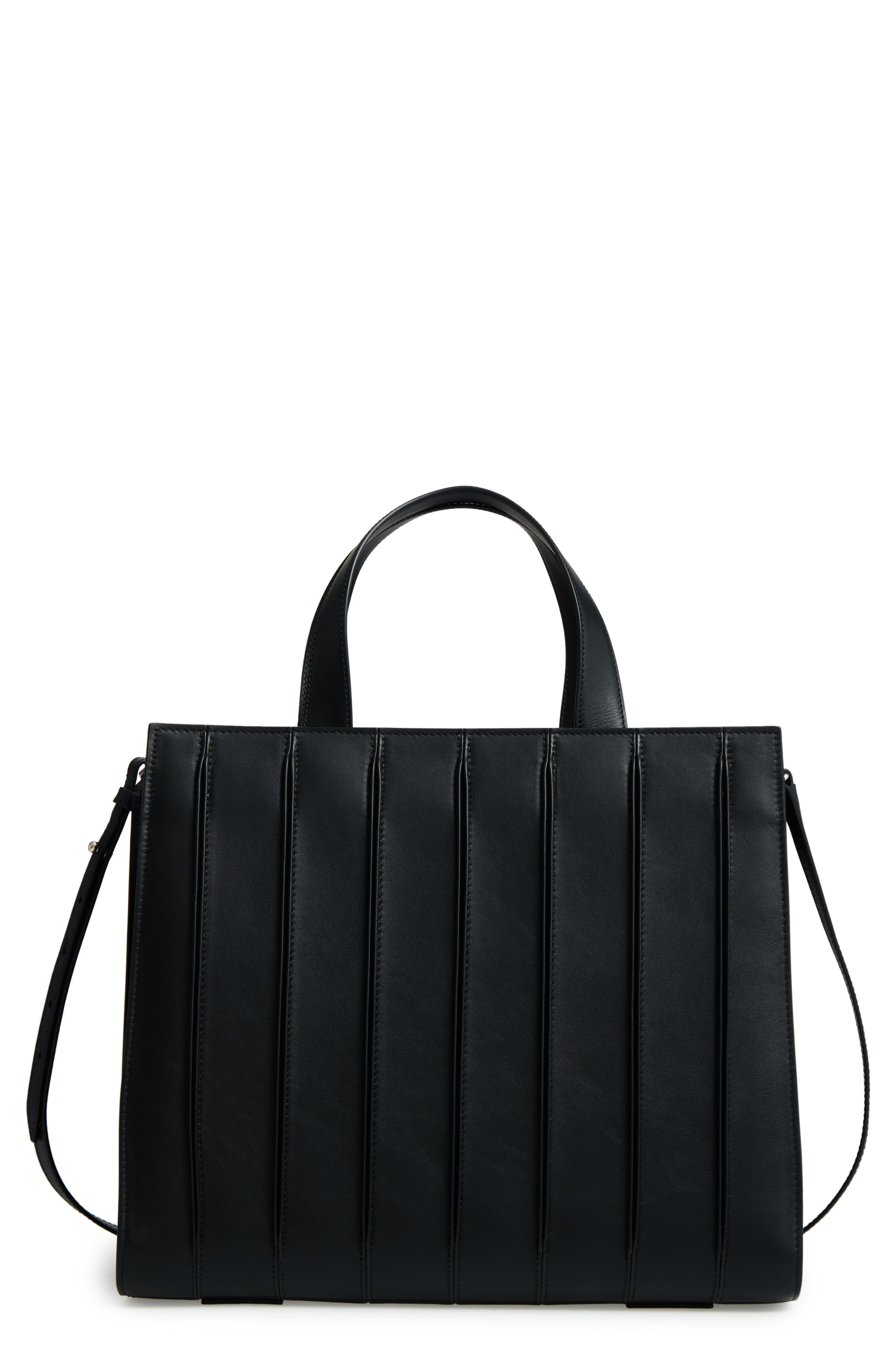 Max Mara Large Whitney Leather Tote