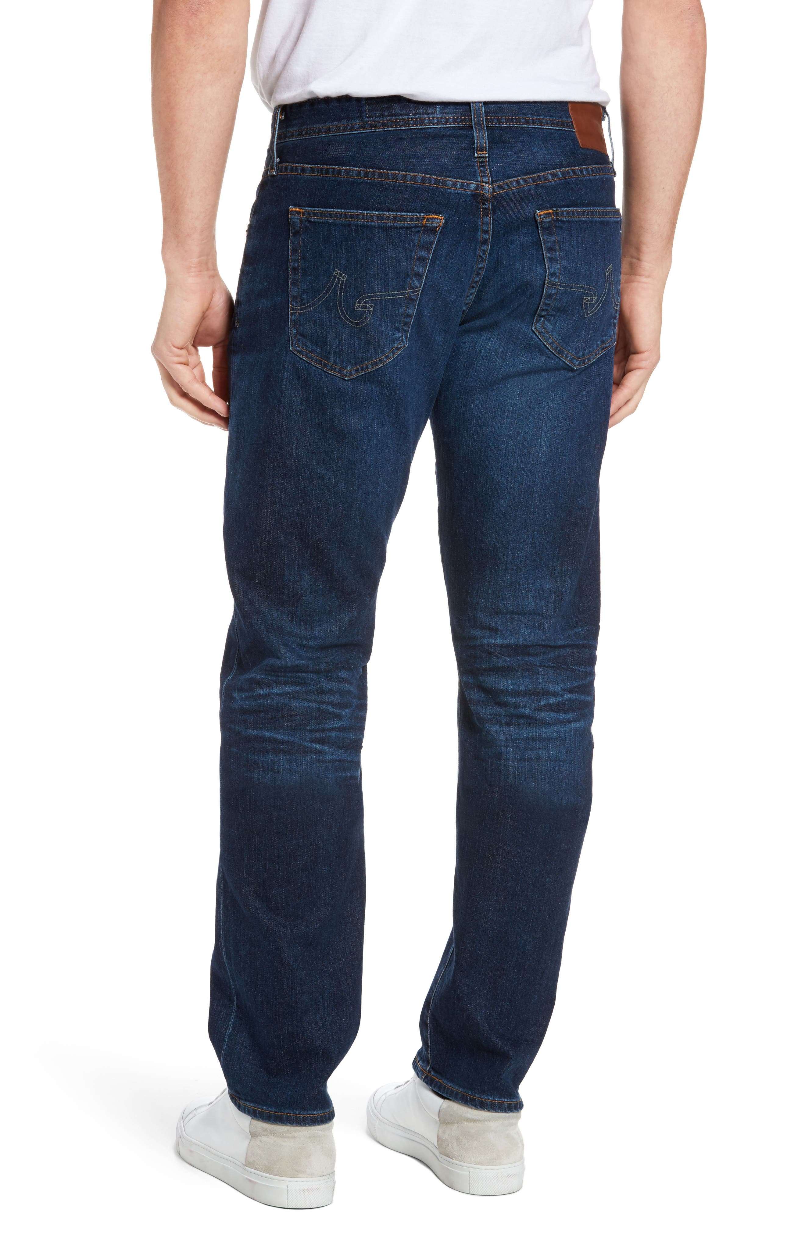 Alternate Image 2  - AG Graduate Slim Straight Fit Jeans (6 Years Projector)
