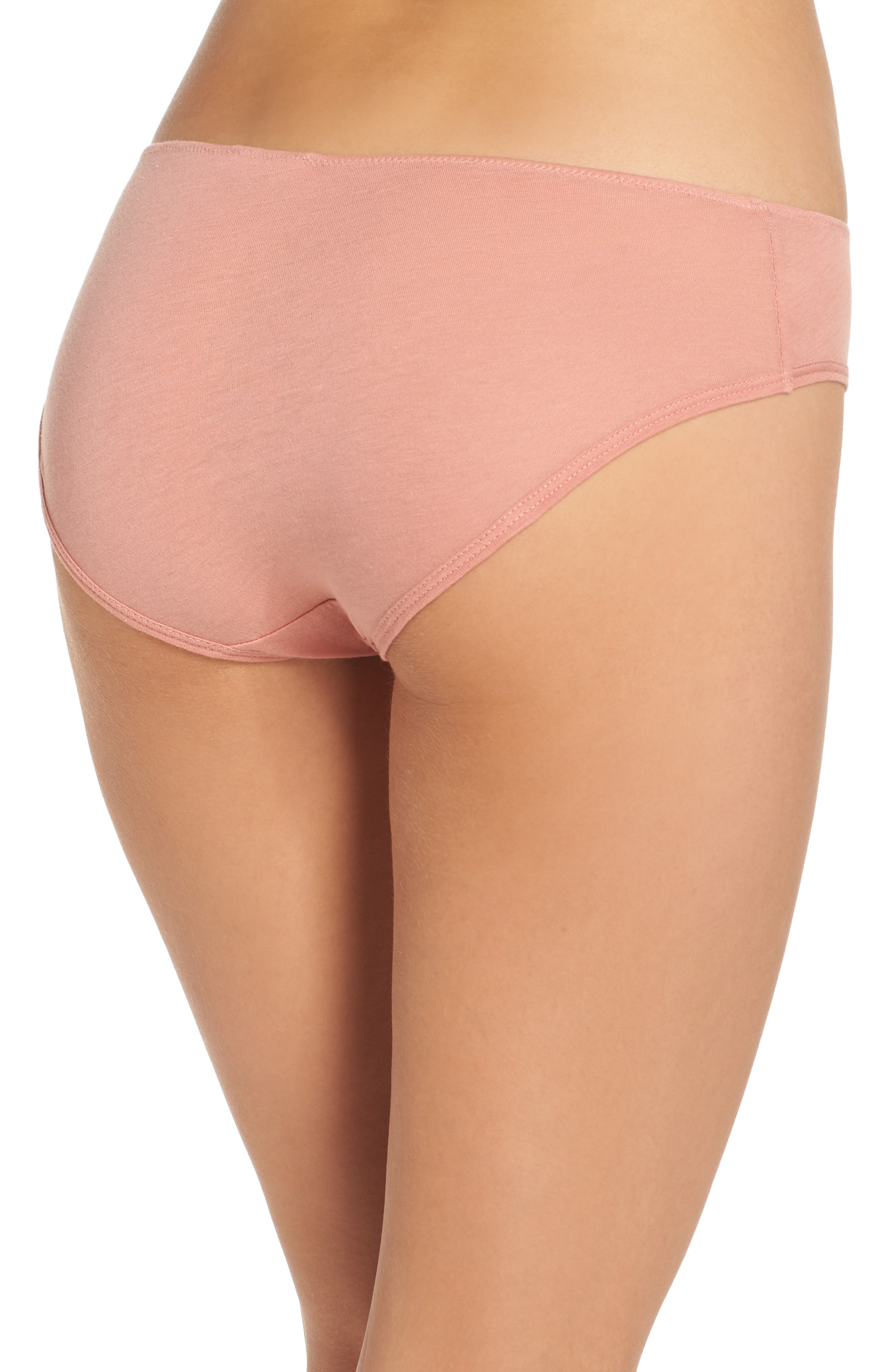 Alternate Image 2  - skin Organic Cotton Bikini