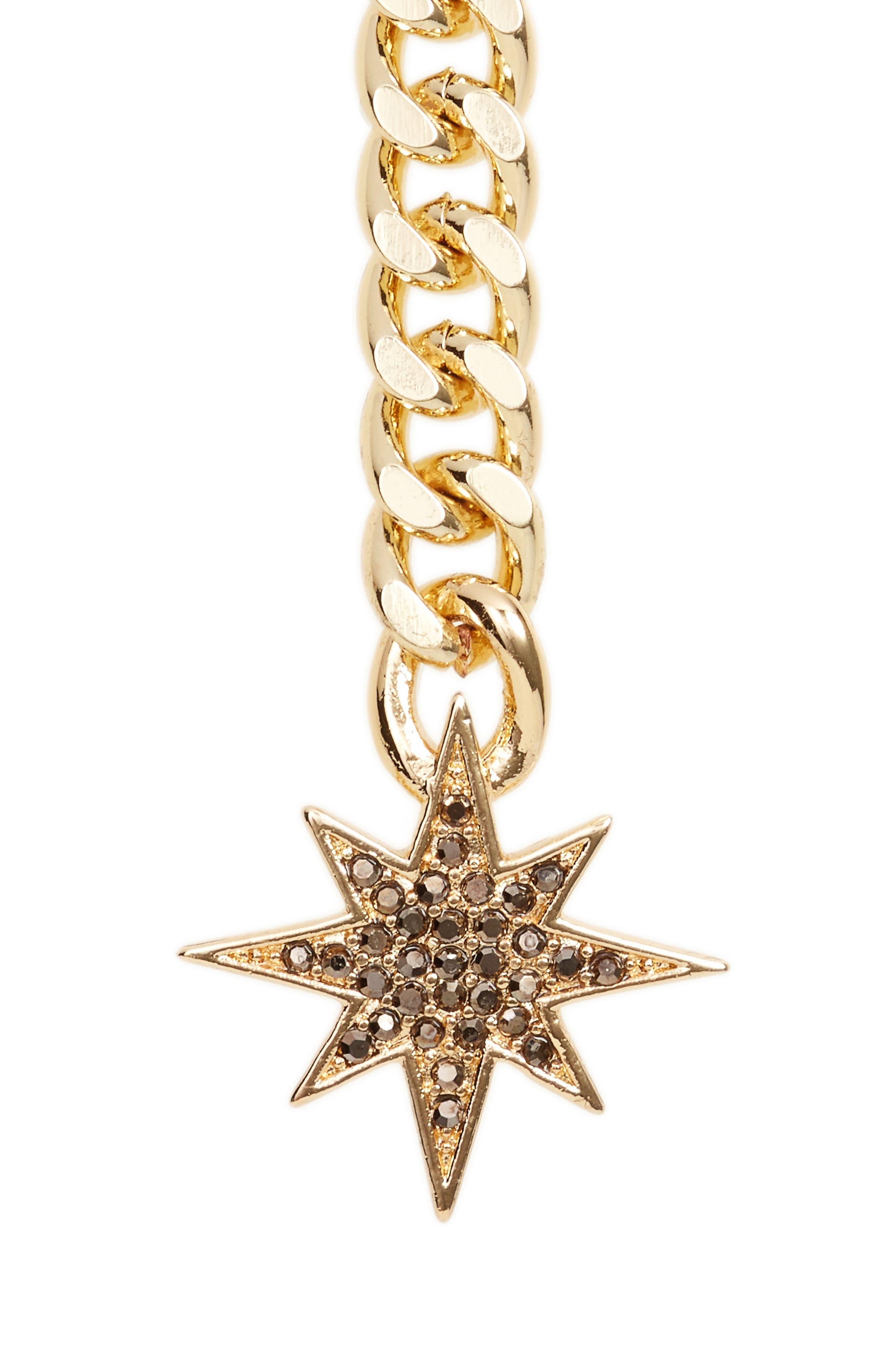 Stargazing Y-Necklace,                         Main,                         color, Gold