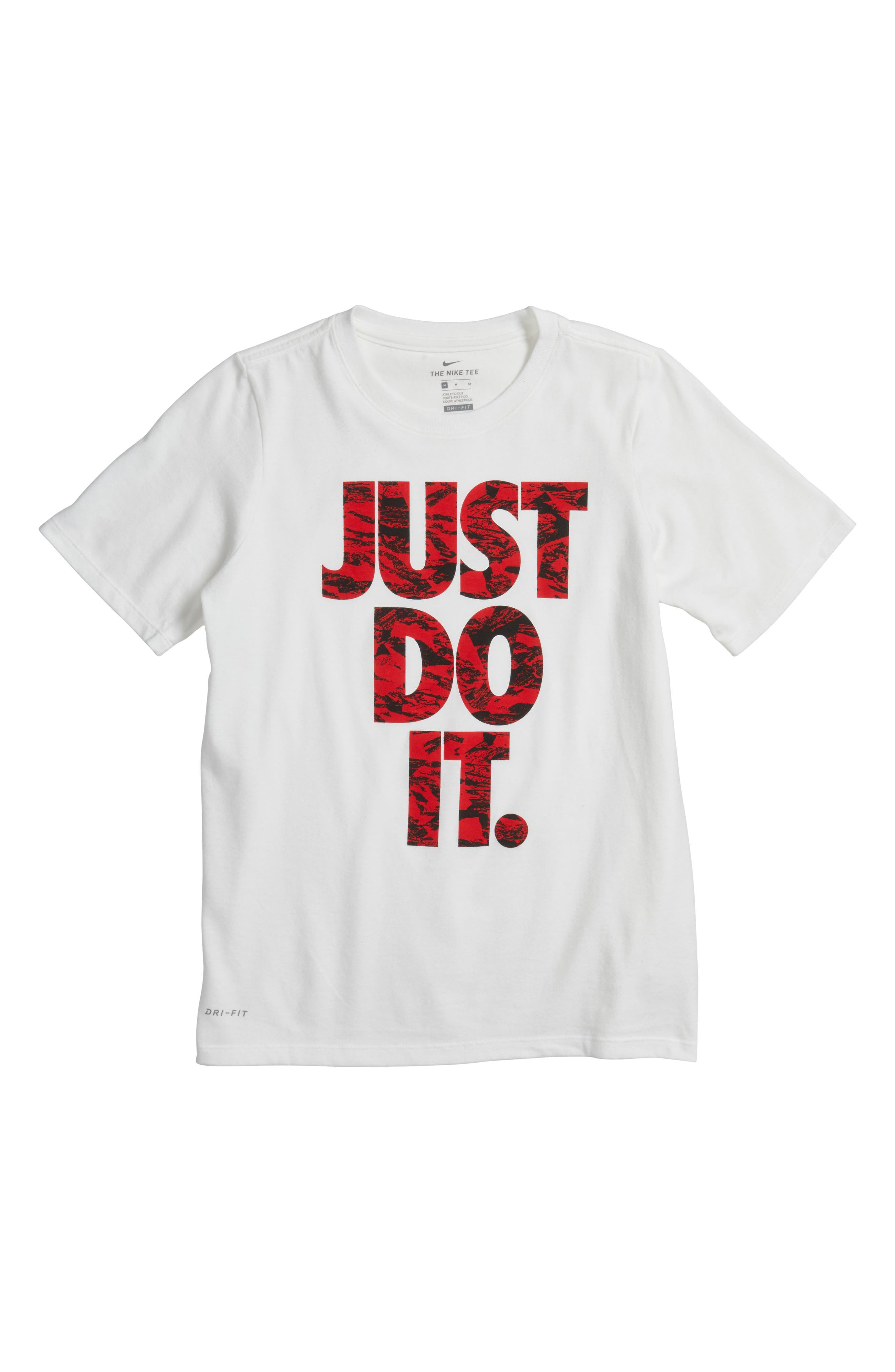 Nike Just Do It Dry Cotton T-Shirt (Little Boys & Big Boys)