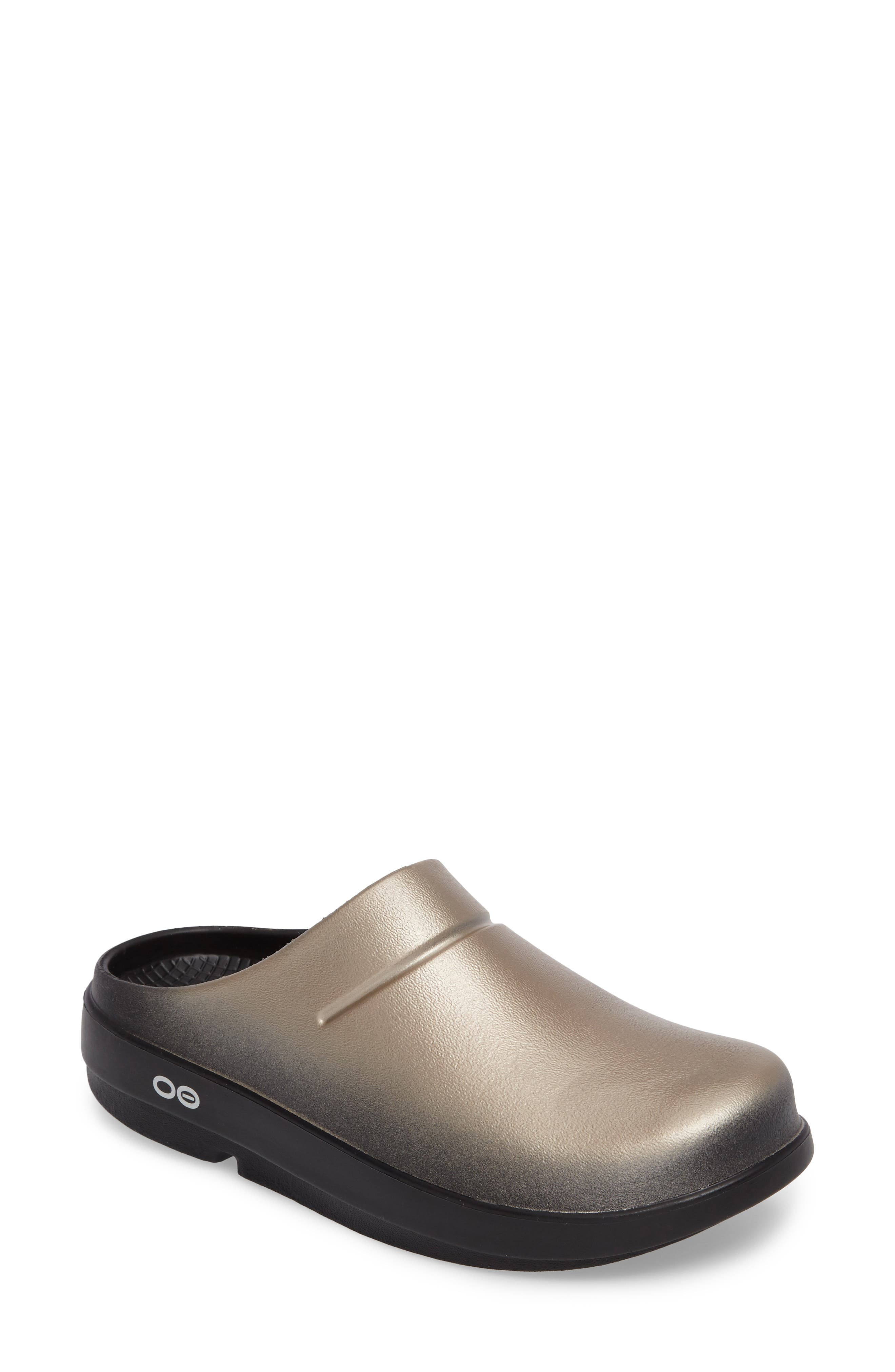 OOcloog Luxe Clog,                             Main thumbnail 1, color,                             Latte