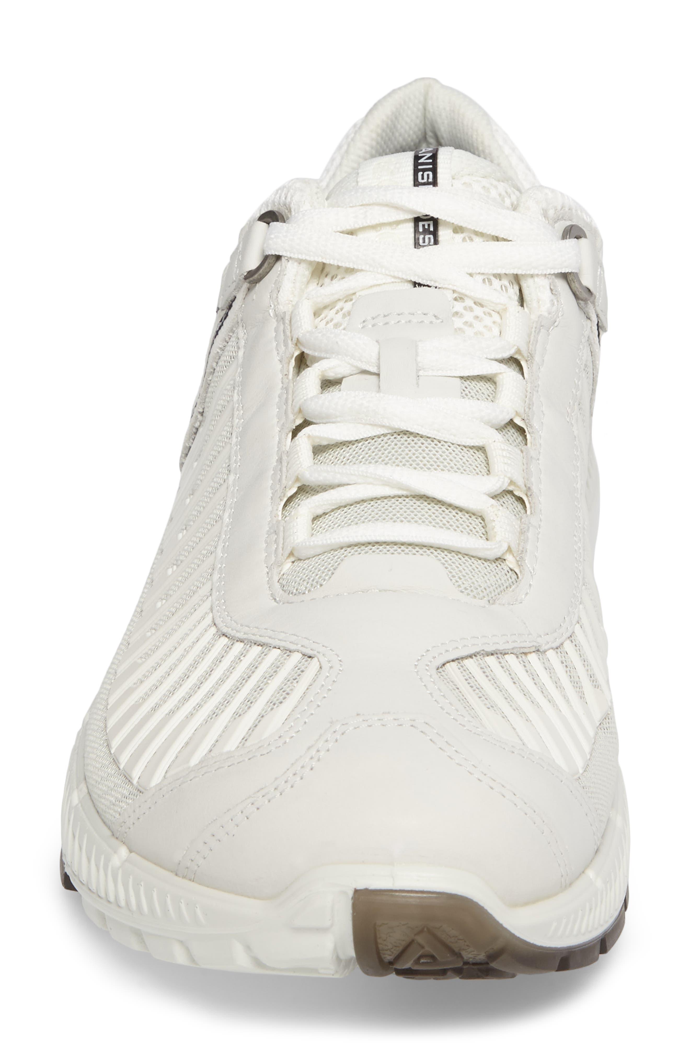 Intrinsic TR Run Sneaker,                             Alternate thumbnail 4, color,                             White Leather