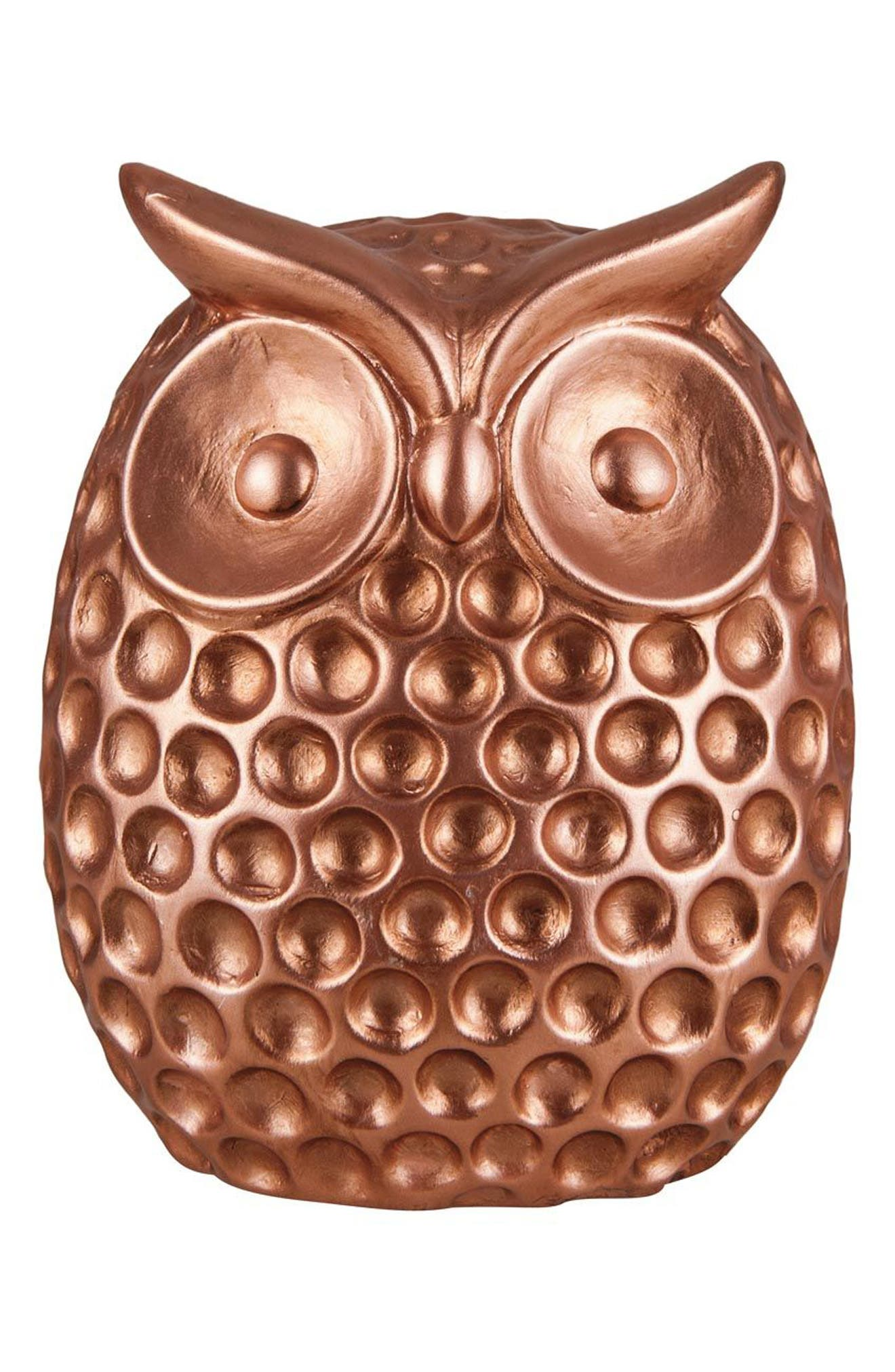 Foreside Ceramic Owl Statue