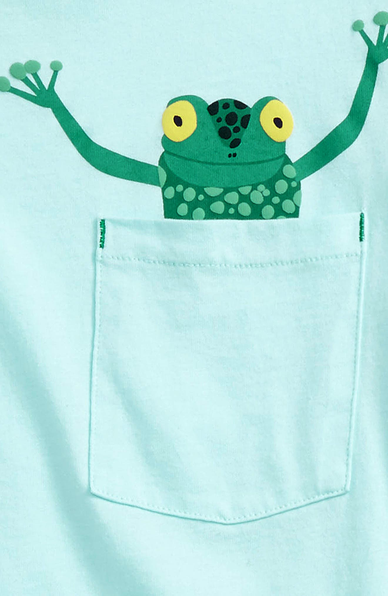 Alternate Image 2  - Mini Boden Pocket Friends T-Shirt (Toddler Boys, Little Boys & Big Boys)