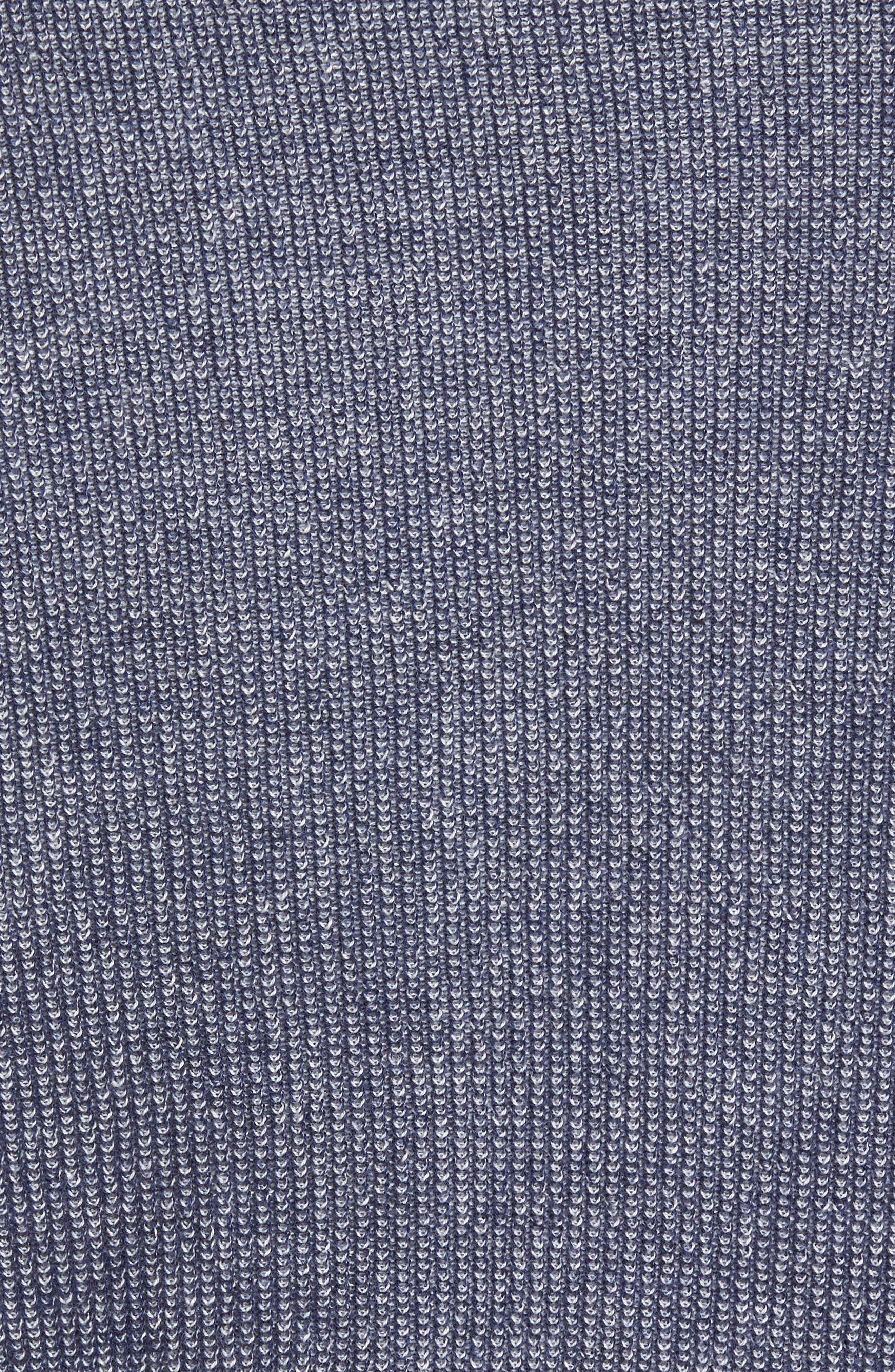 Alternate Image 5  - Nordstrom Men's Shop Supima® Cotton V-Neck Sweater