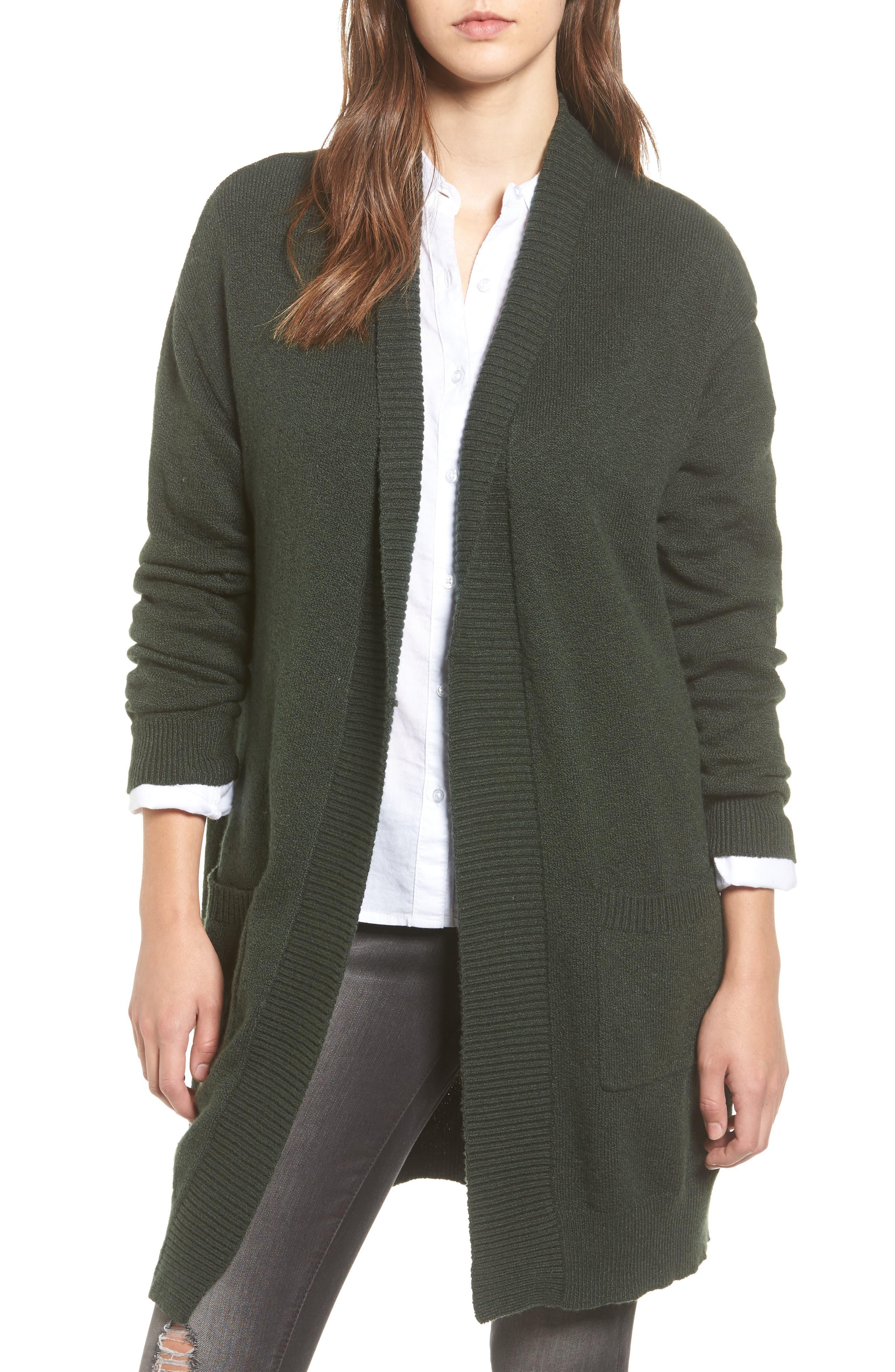 Green Cardigan Sweaters & Sweatshirts, Cowl Necks, Cable Knits ...