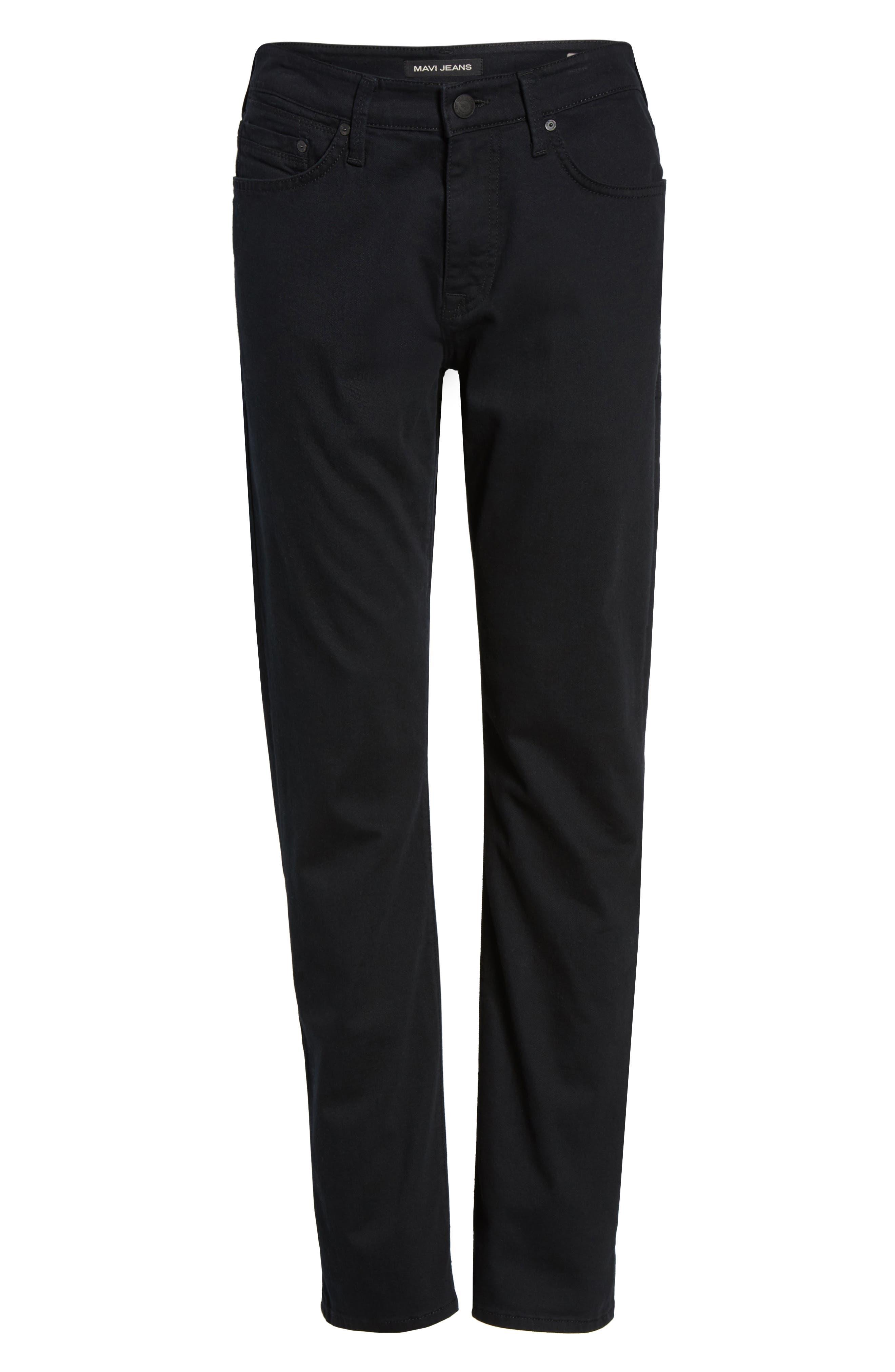Alternate Image 6  - Mavi Jeans Matt Relaxed Fit Jeans (Black Williamsburg)