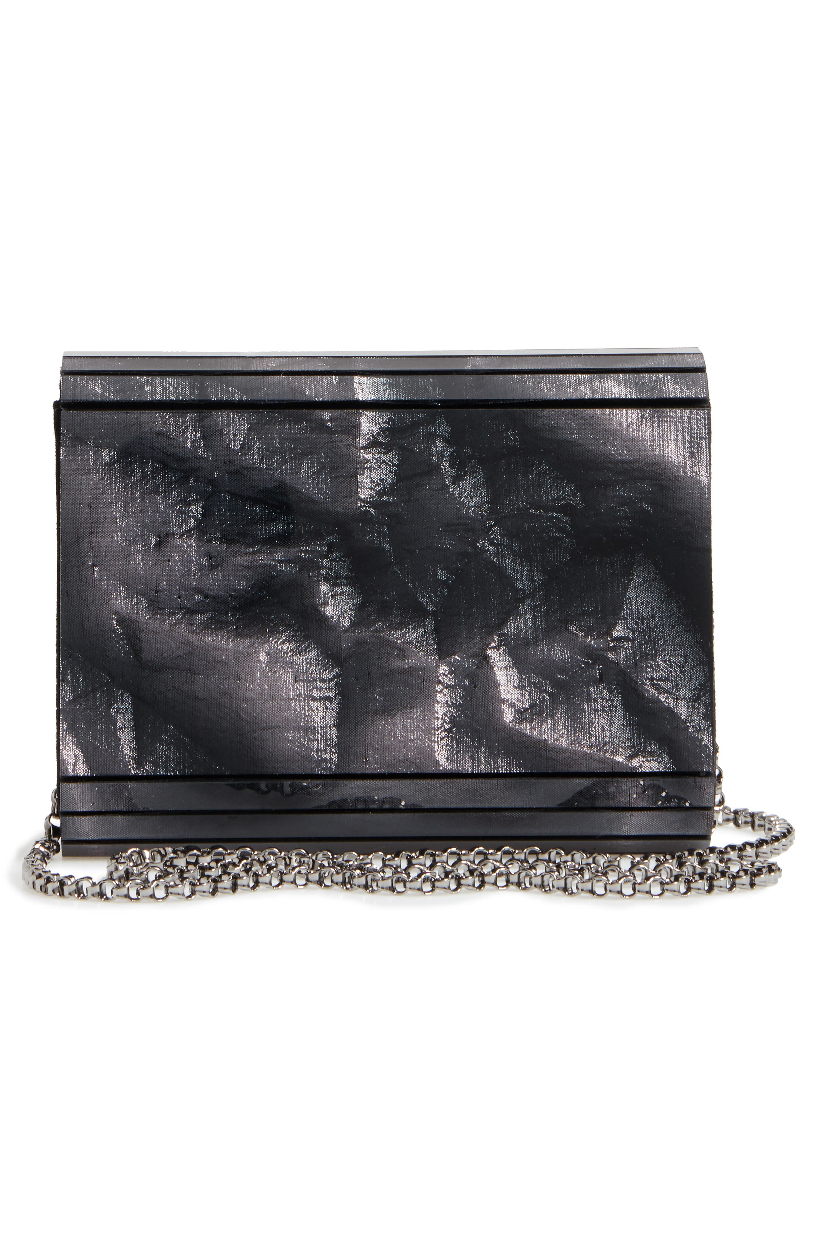 'Candy' Clutch,                             Alternate thumbnail 2, color,                             Anthracite