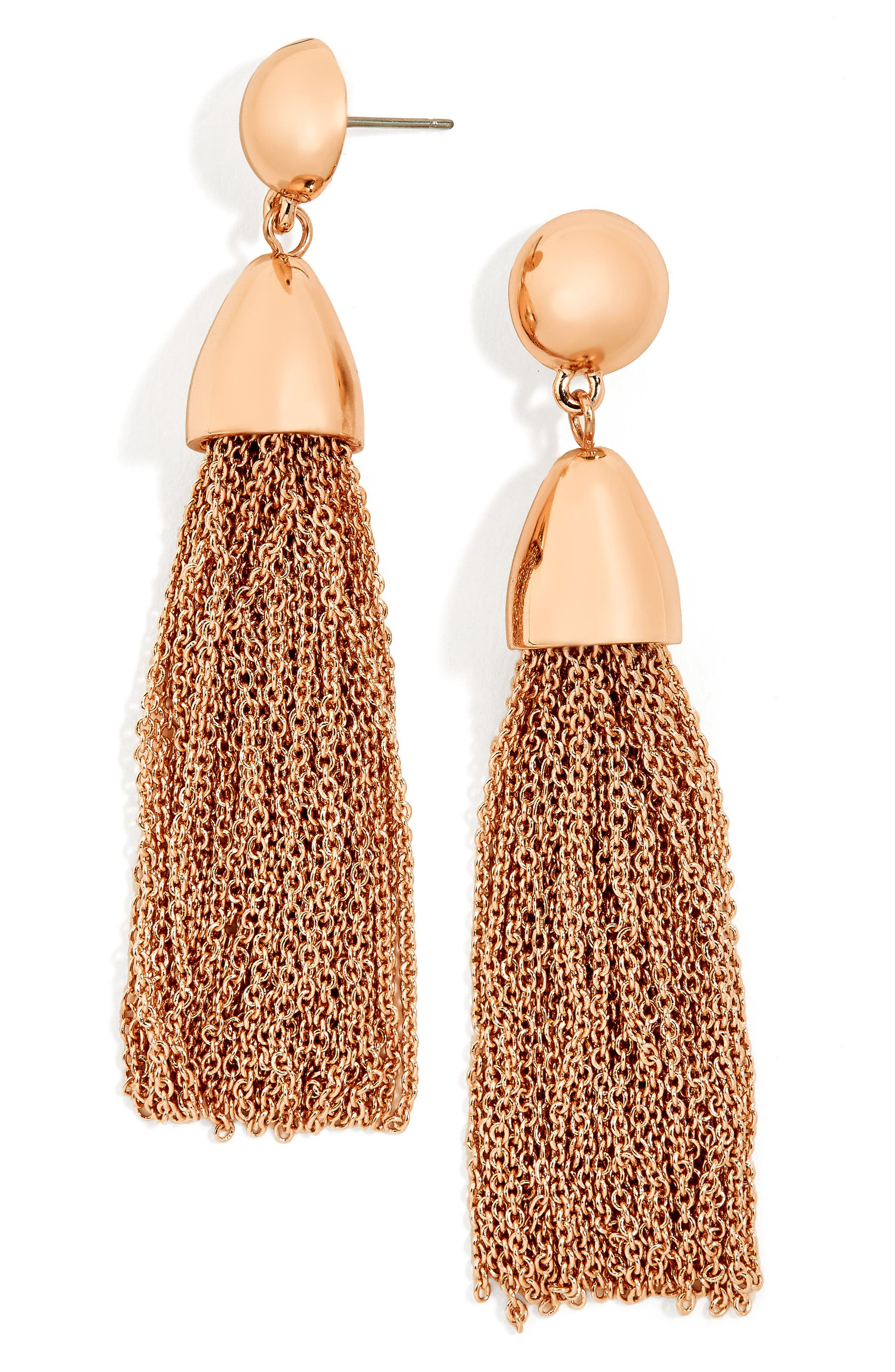 BaubleBar Tassel Drop Earrings