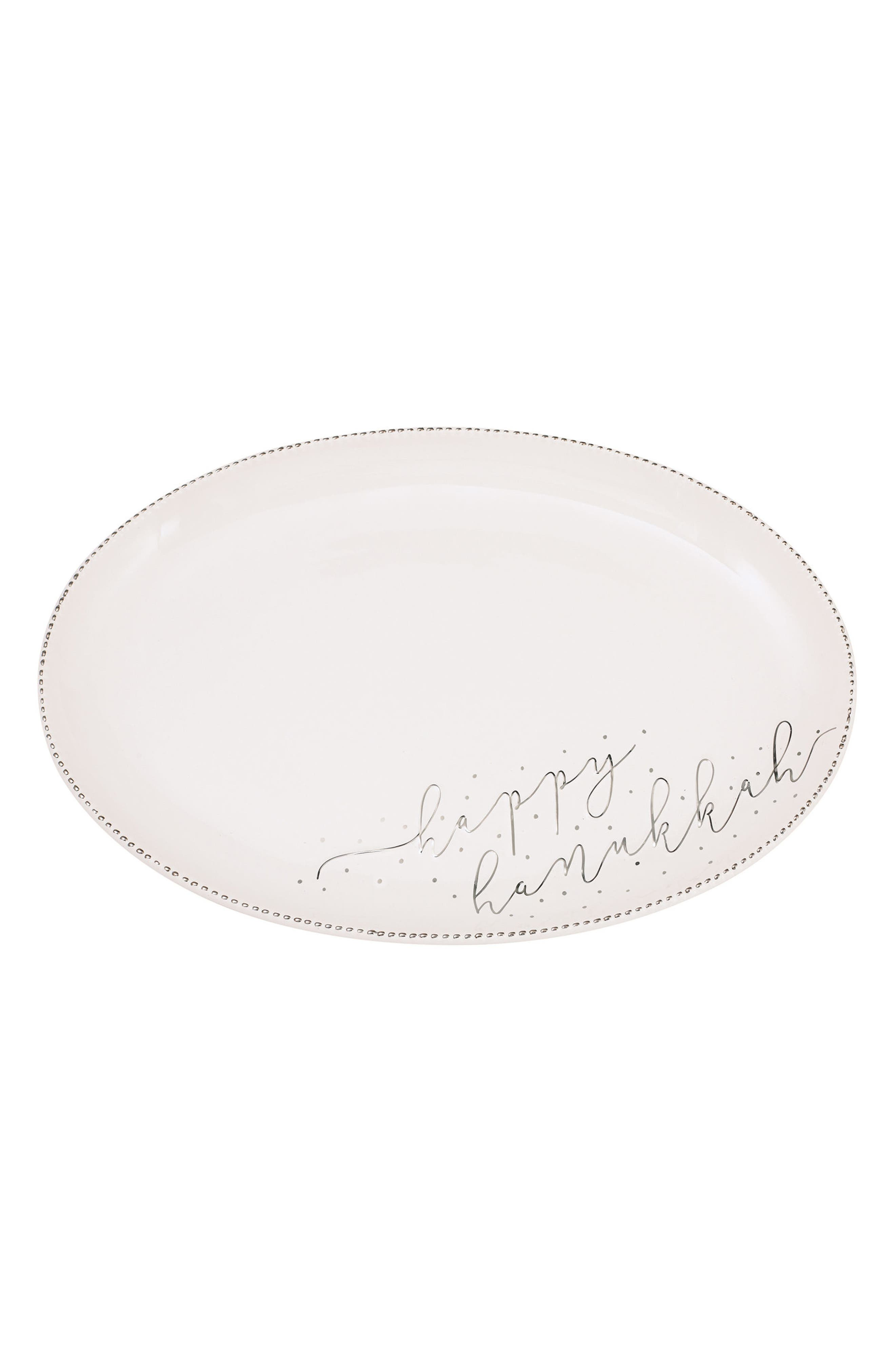 Main Image - Mud Pie Hanukkah Stoneware Serving Platter
