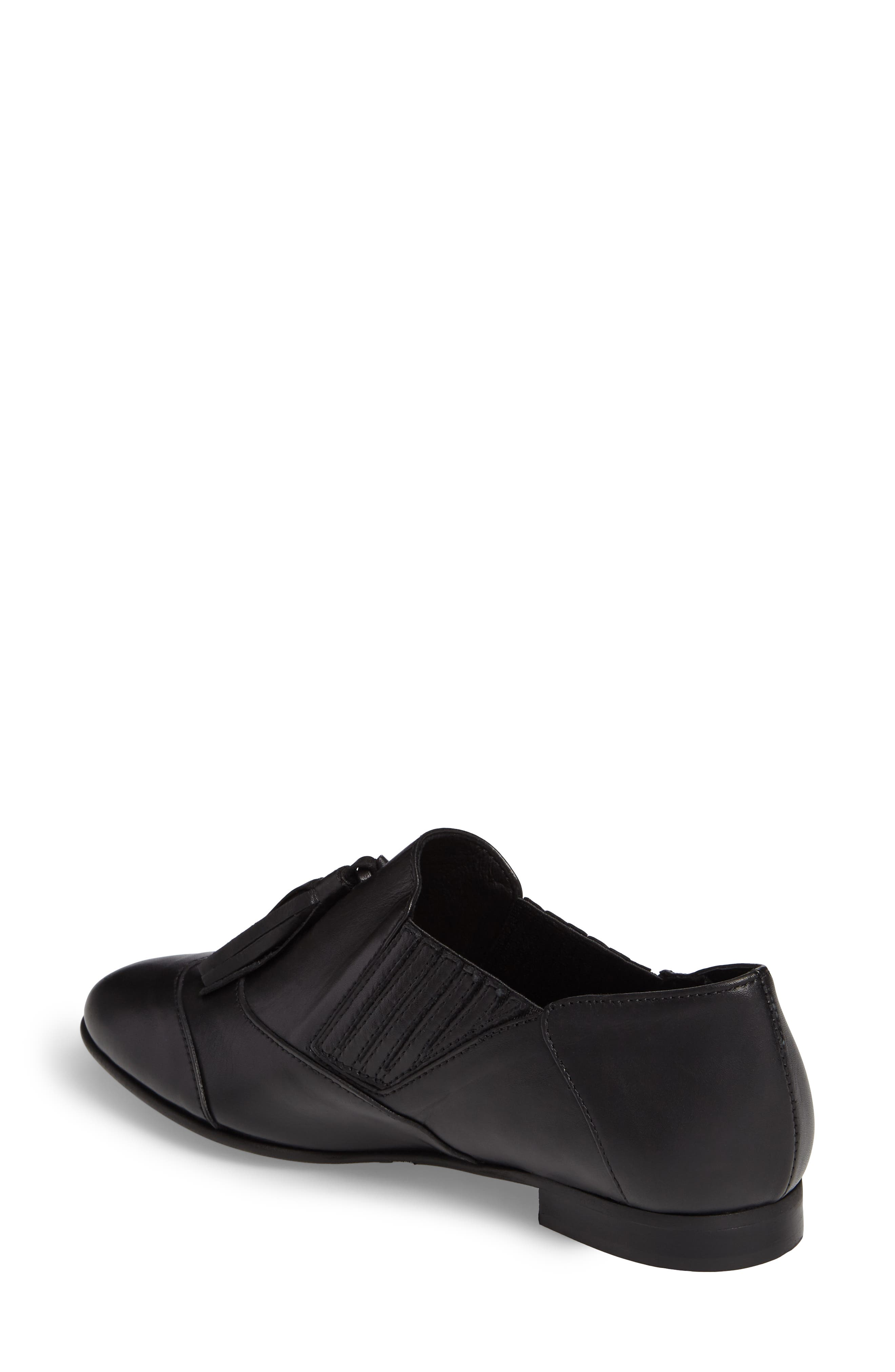 Alternate Image 2  - Charles David Oracle Tasseled Slip-On Flat (Women)
