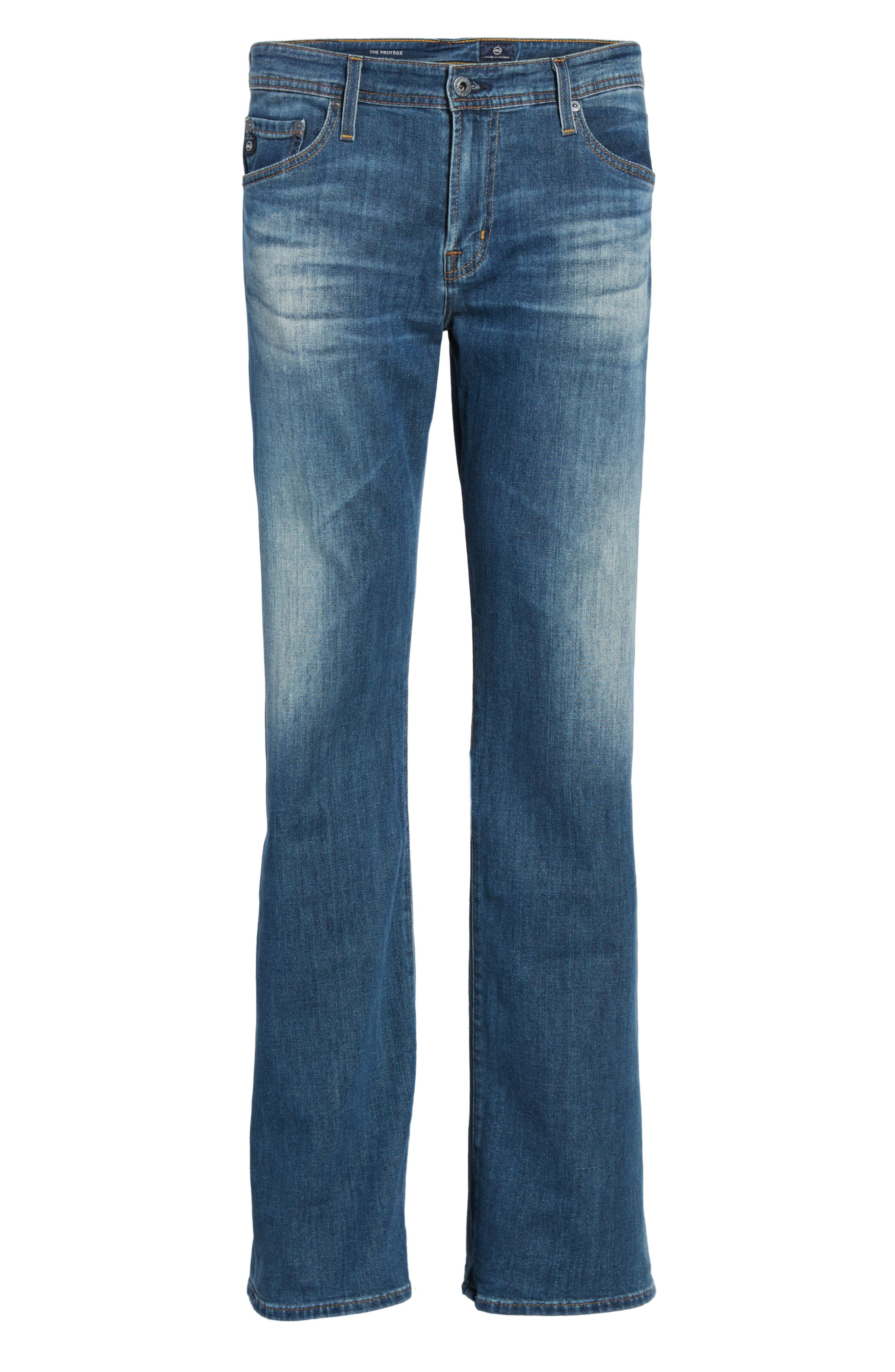 Protégé Relaxed Fit Jeans,                             Alternate thumbnail 6, color,                             Four Rivers