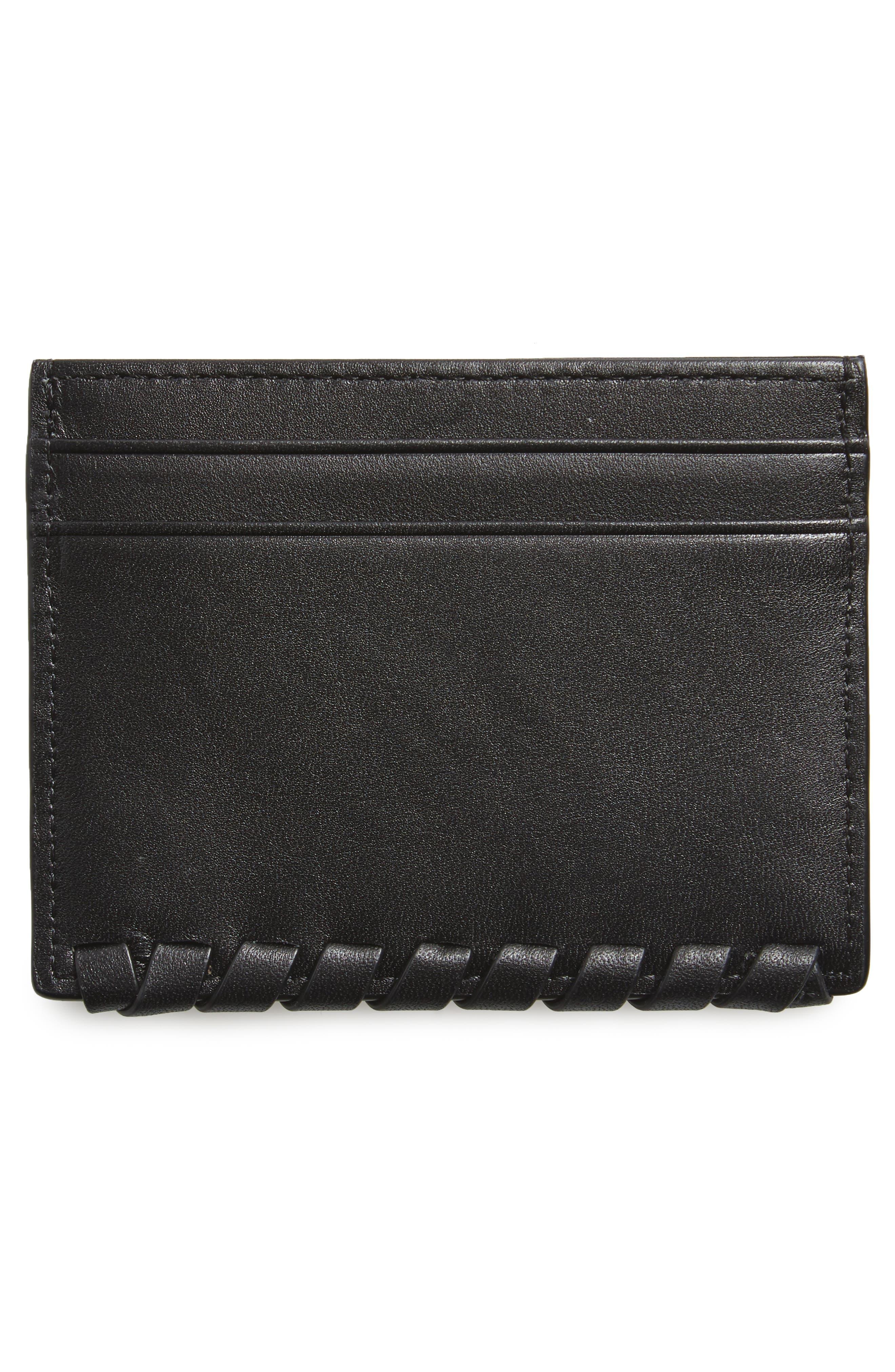 Alternate Image 2  - ALLSAINTS Kita Pebbled Leather Card Case