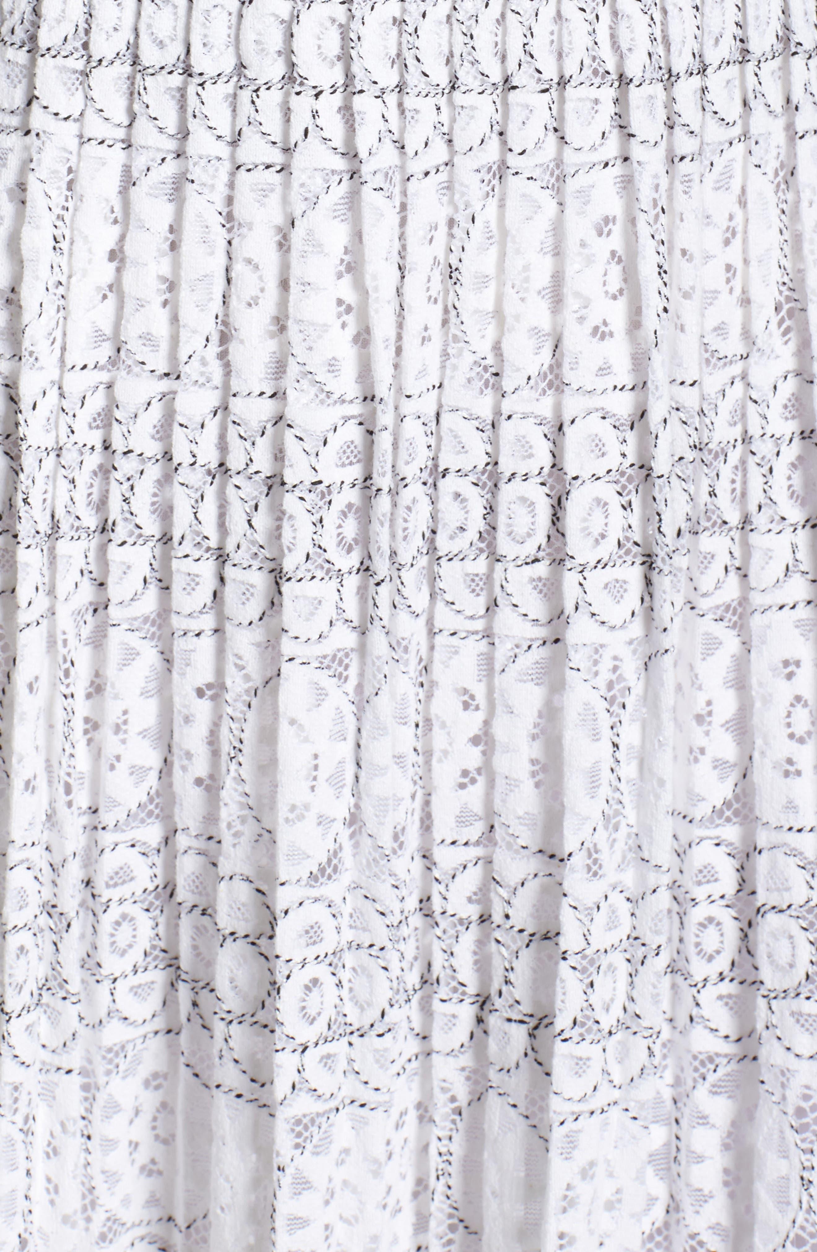 Alternate Image 5  - Foxiedox Belinda Lace Cold Shoulder Dress