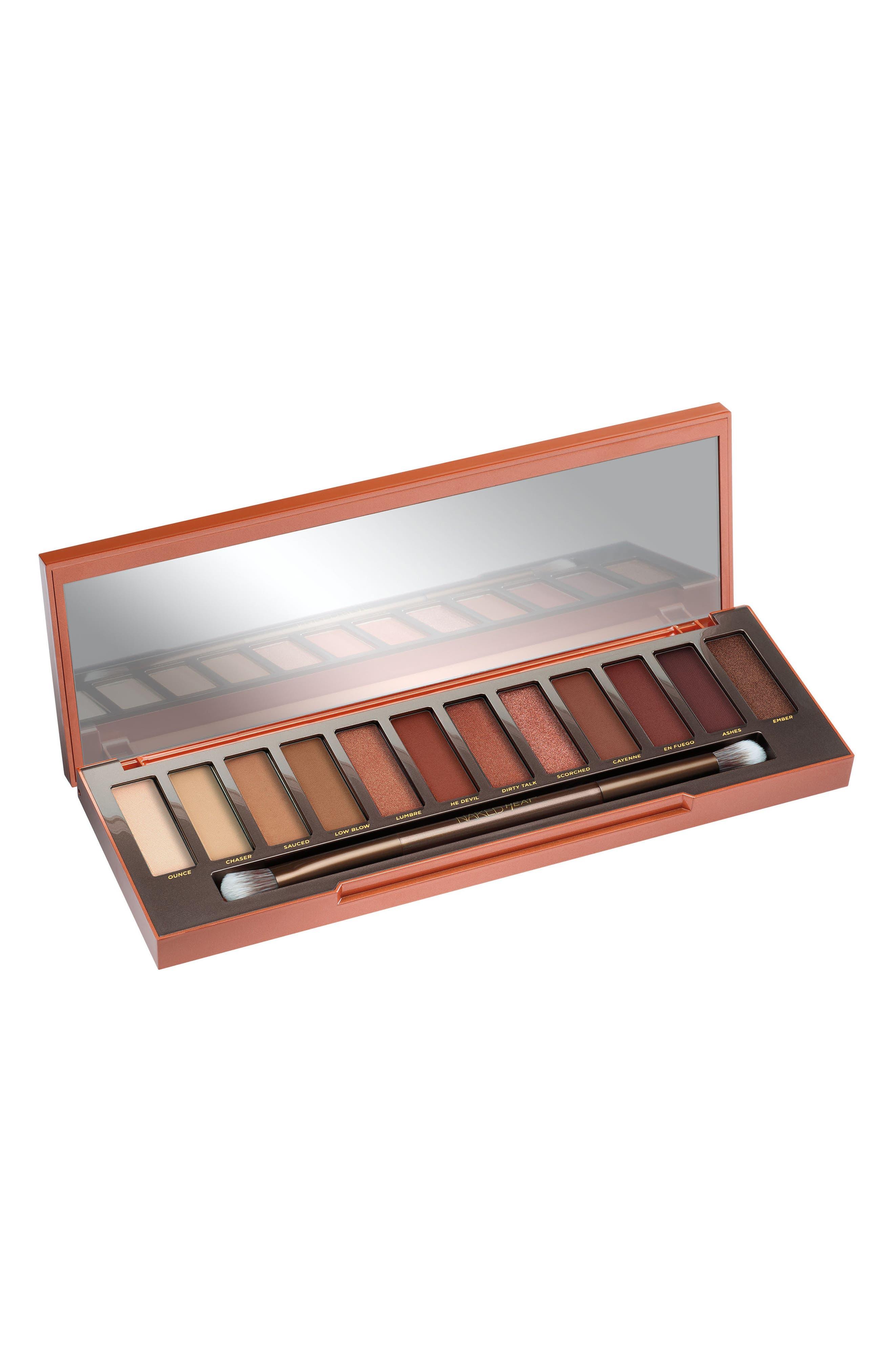 Naked Heat Palette,                         Main,                         color, Orange