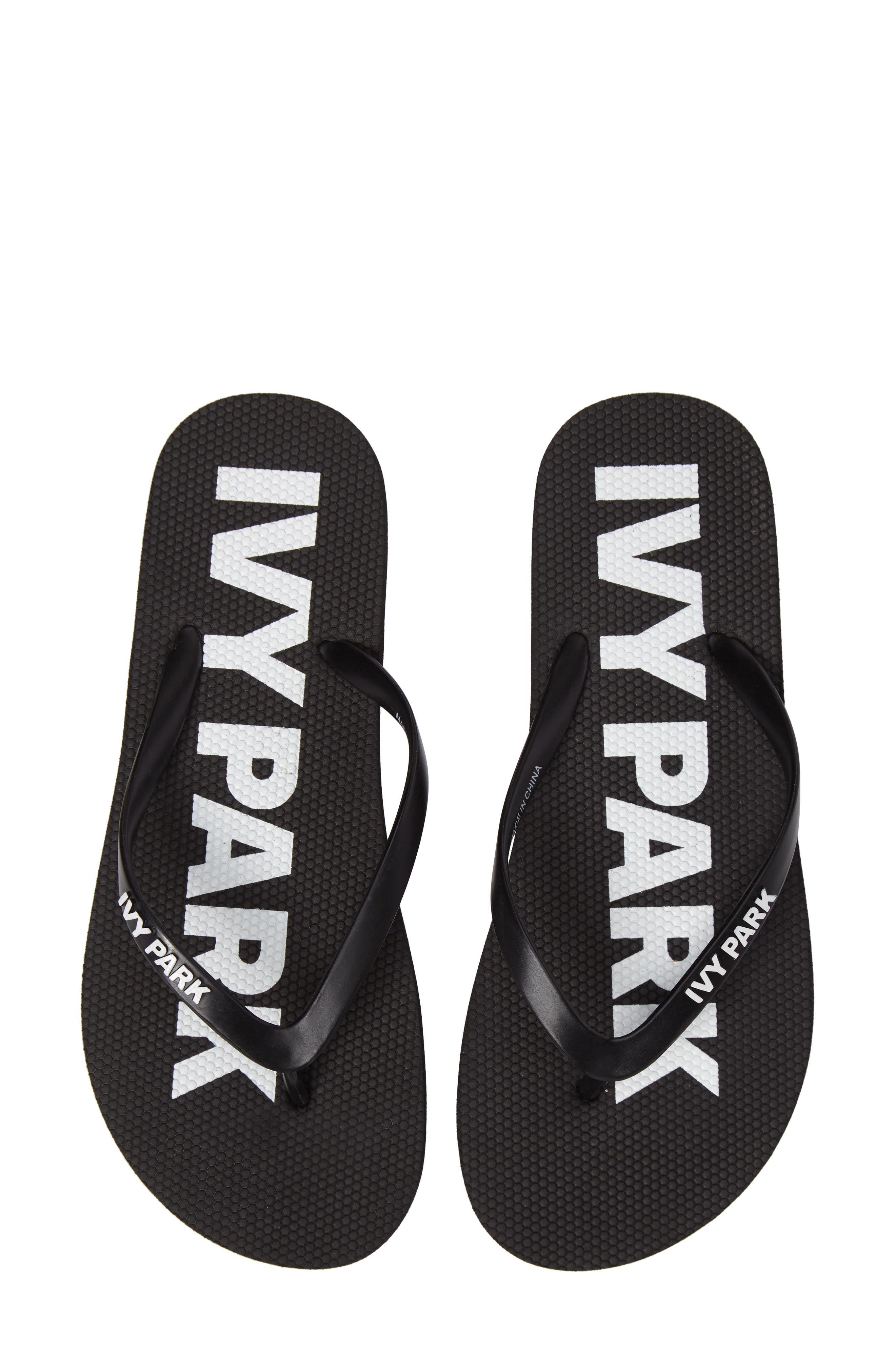 IVY PARK® Logo Flip Flops (Women)