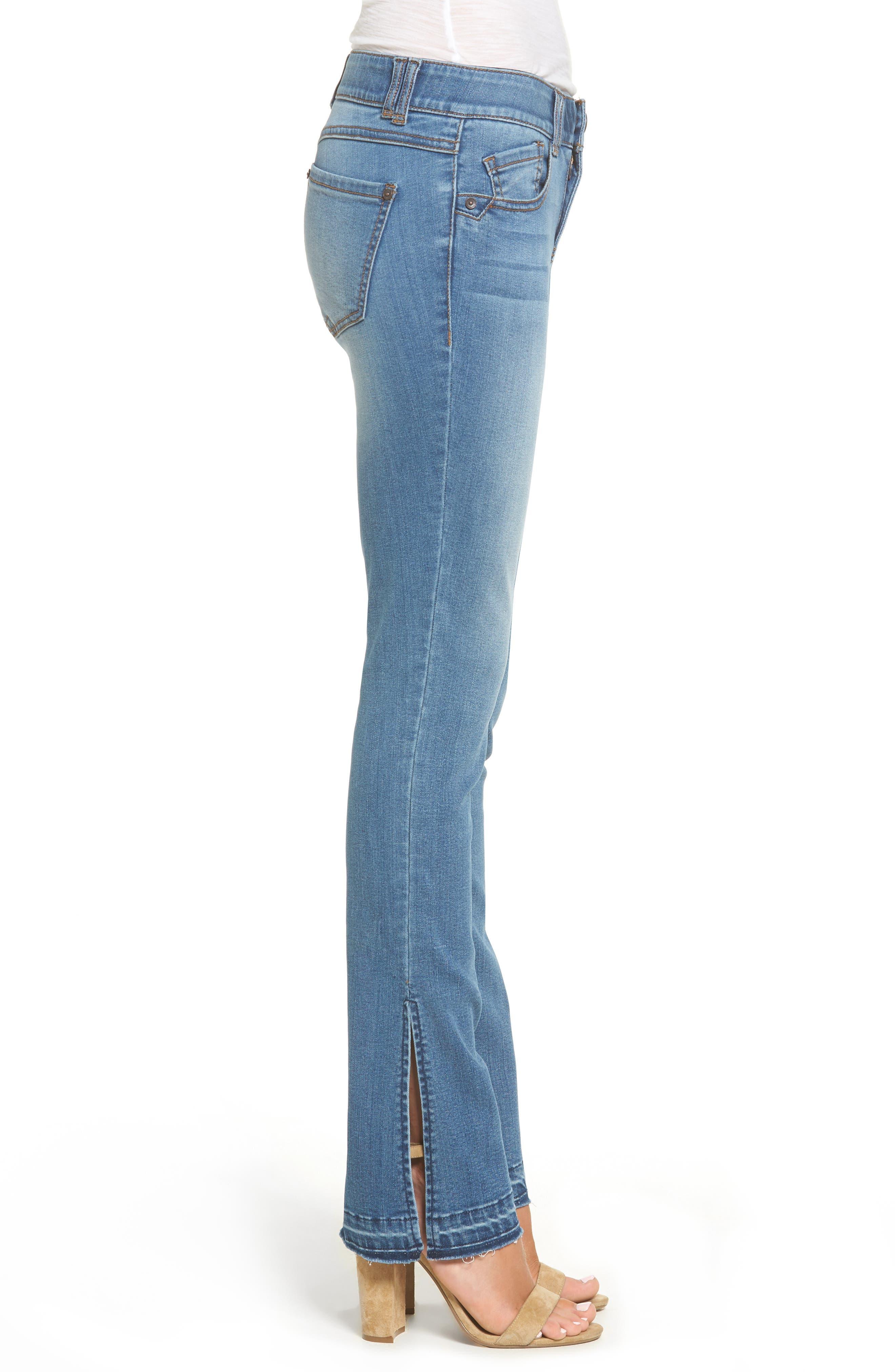 Alternate Image 3  - Wit & Wisdom Ab-solution Split Release Hem Jeans (Regular & Petite) (Nordstrom Exclusive)