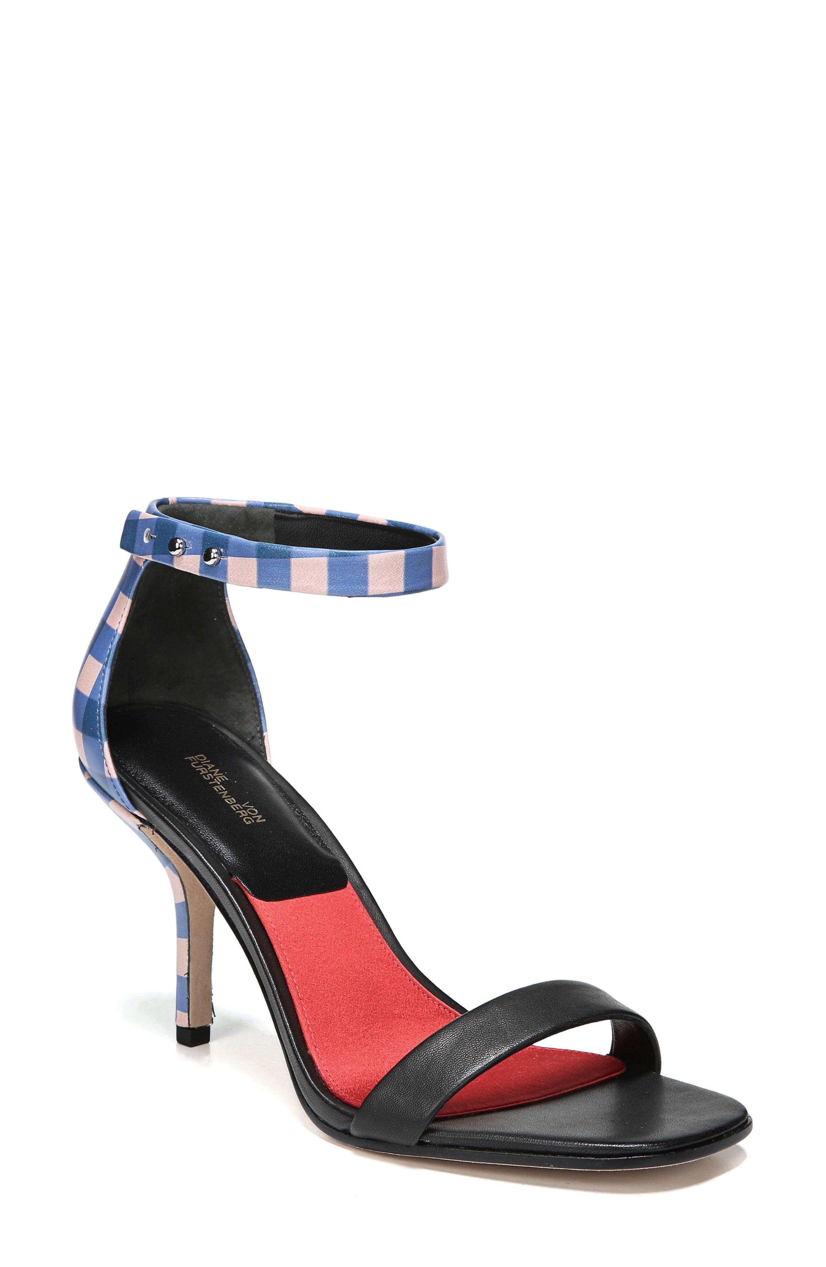 Main Image - Diane Von Furstenberg Ferrara Ankle Strap Sandal (Women)