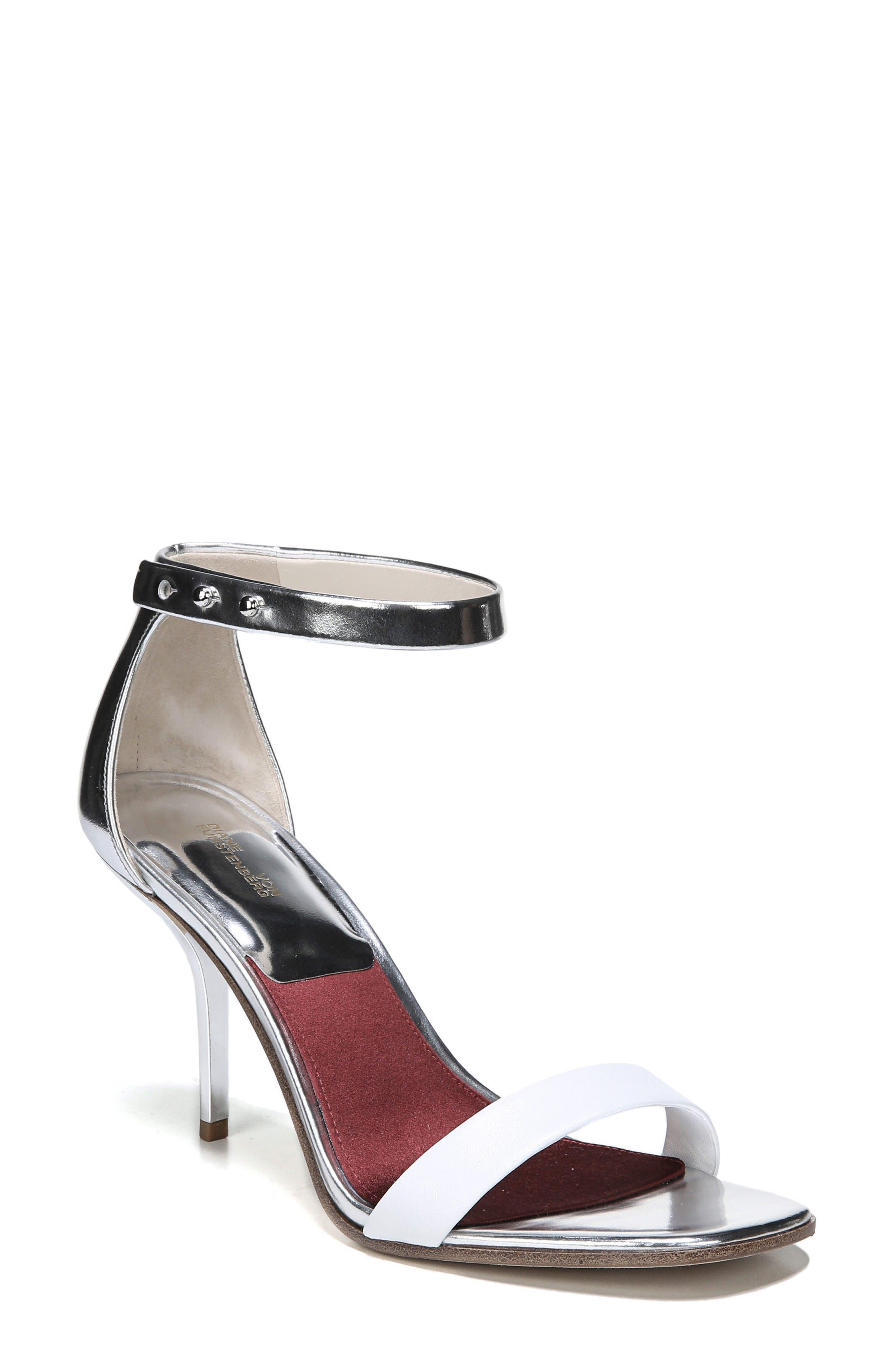 Diane Von Furstenberg Ferrara Ankle Strap Sandal (Women)