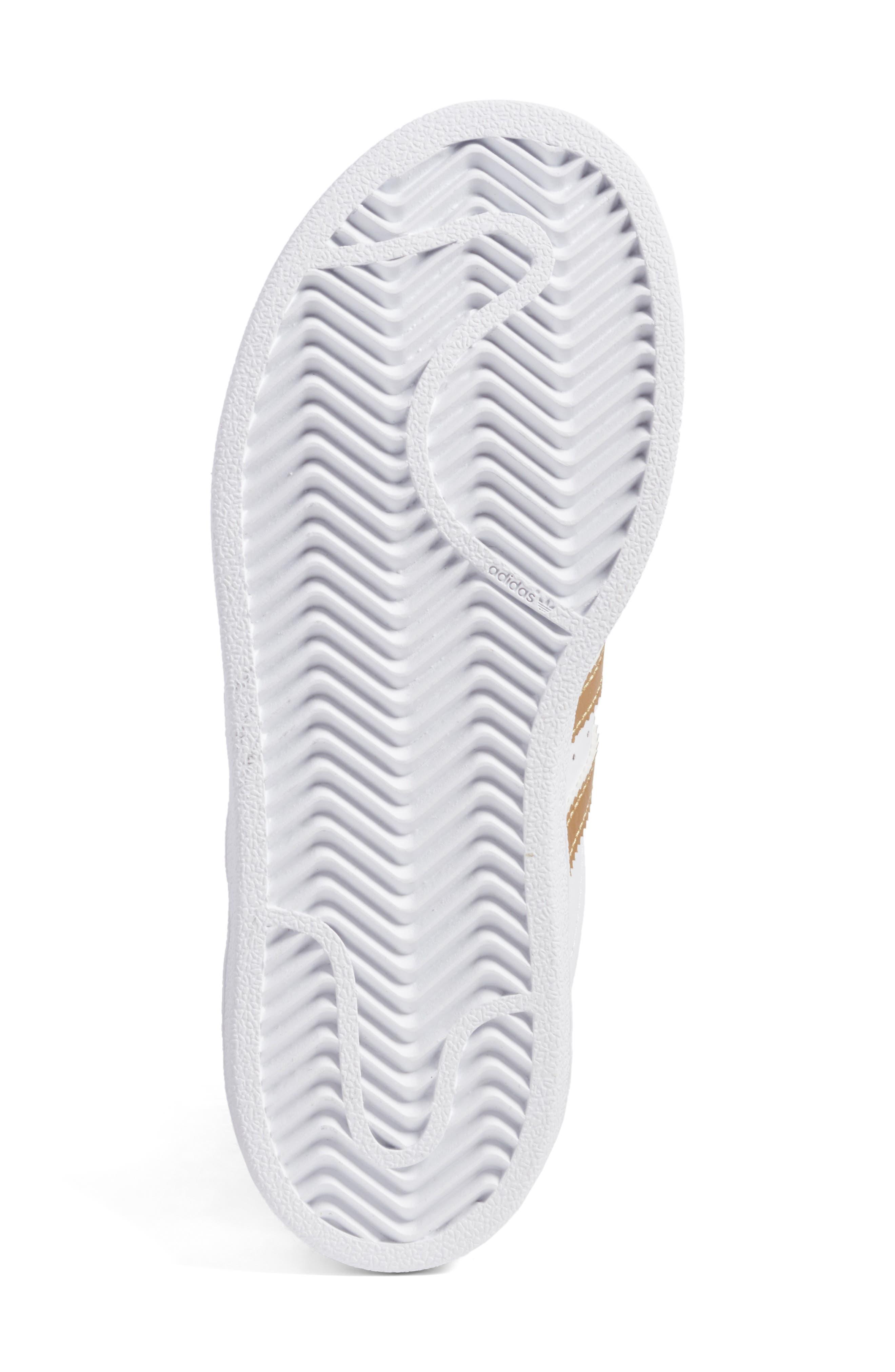 Alternate Image 6  - adidas Superstar C Sneaker (Toddler & Little Kid)