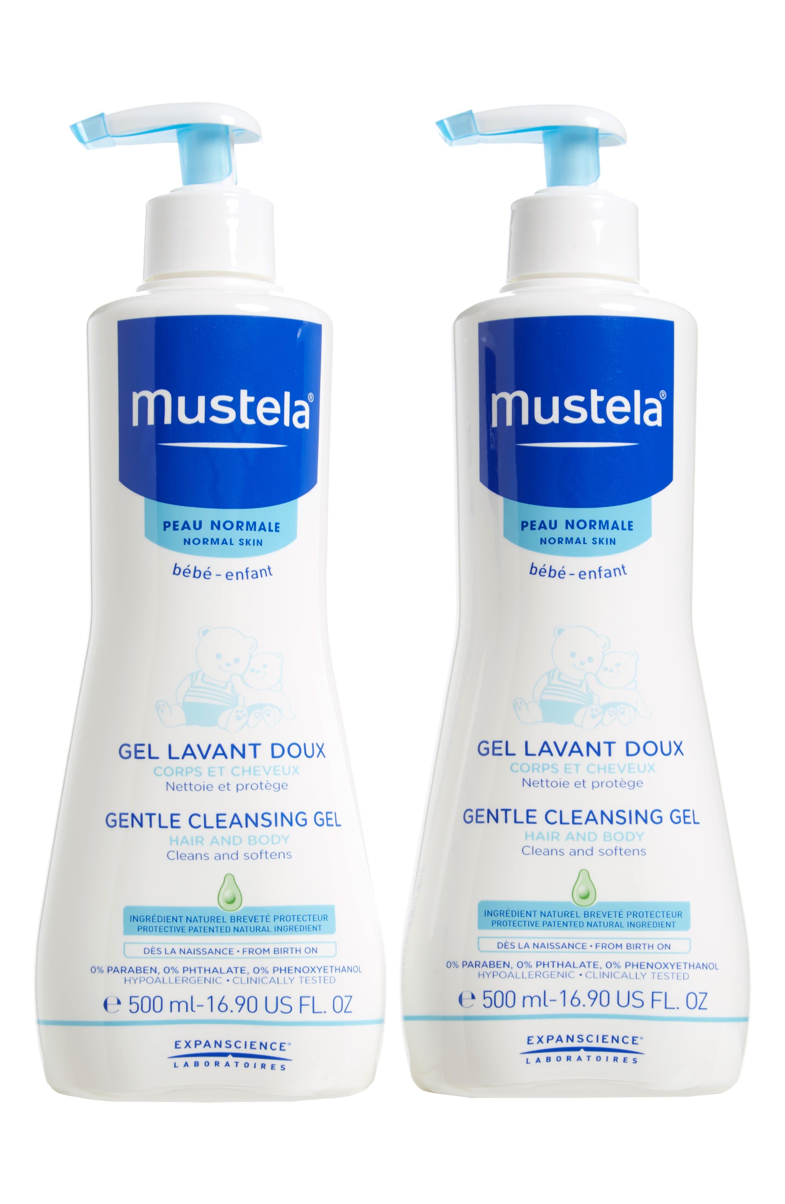 Mustela® Gentle Cleansing Gel 2-Pack