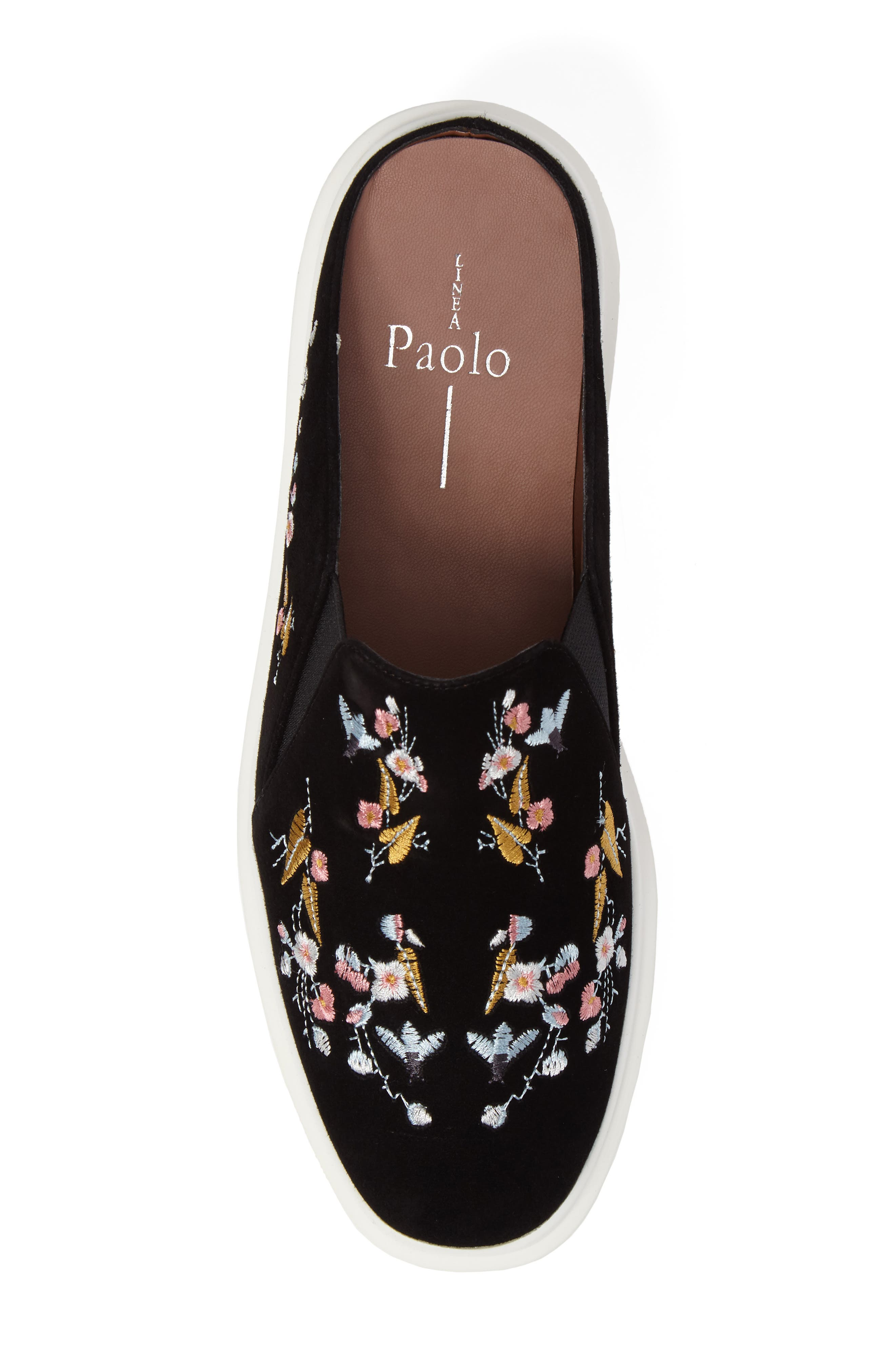 Alternate Image 5  - Linea Paolo Fab II Embroidered Platform Sneaker (Women)