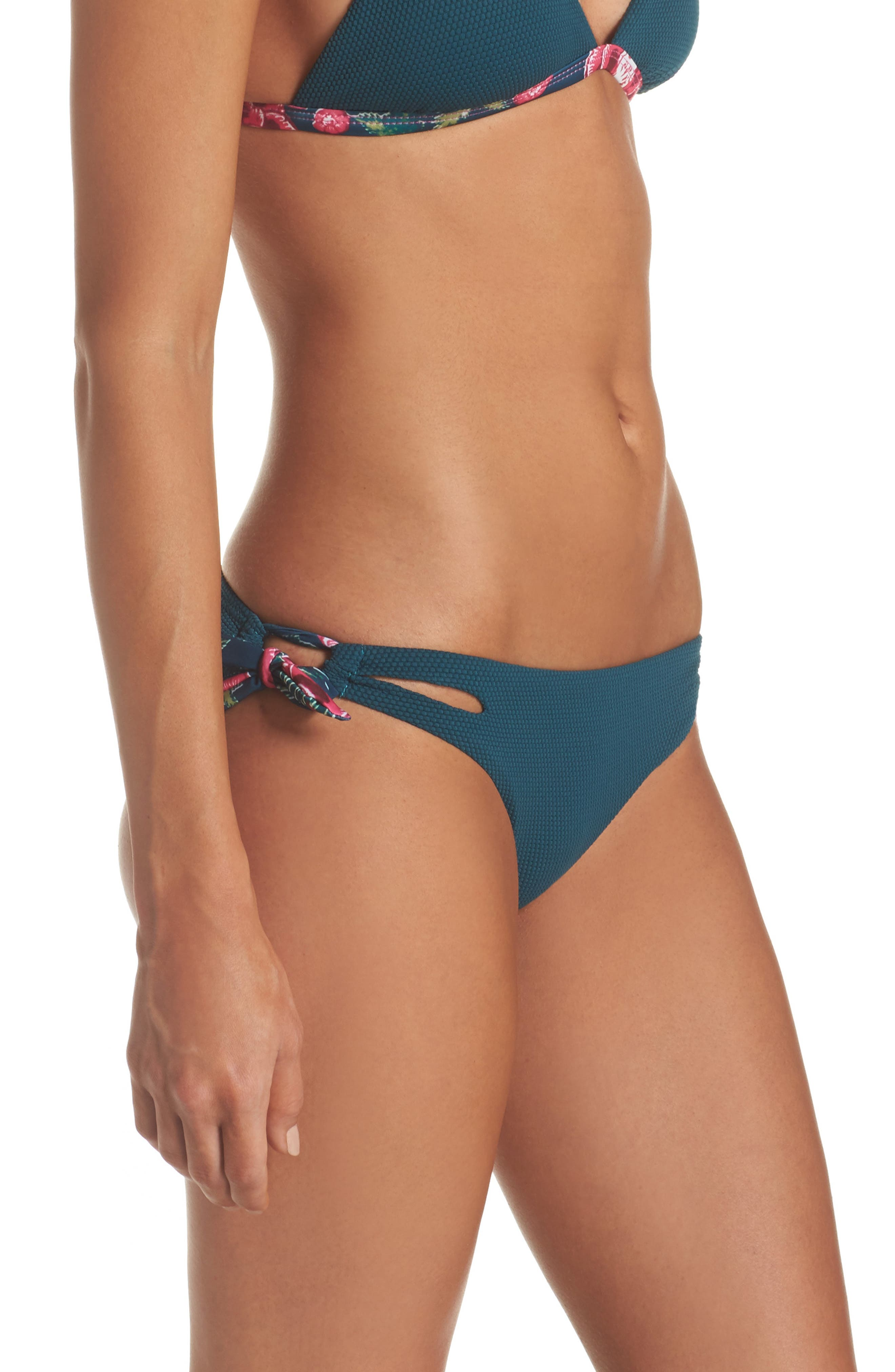 Alternate Image 3  - Leith Side Tie Bikini Bottoms