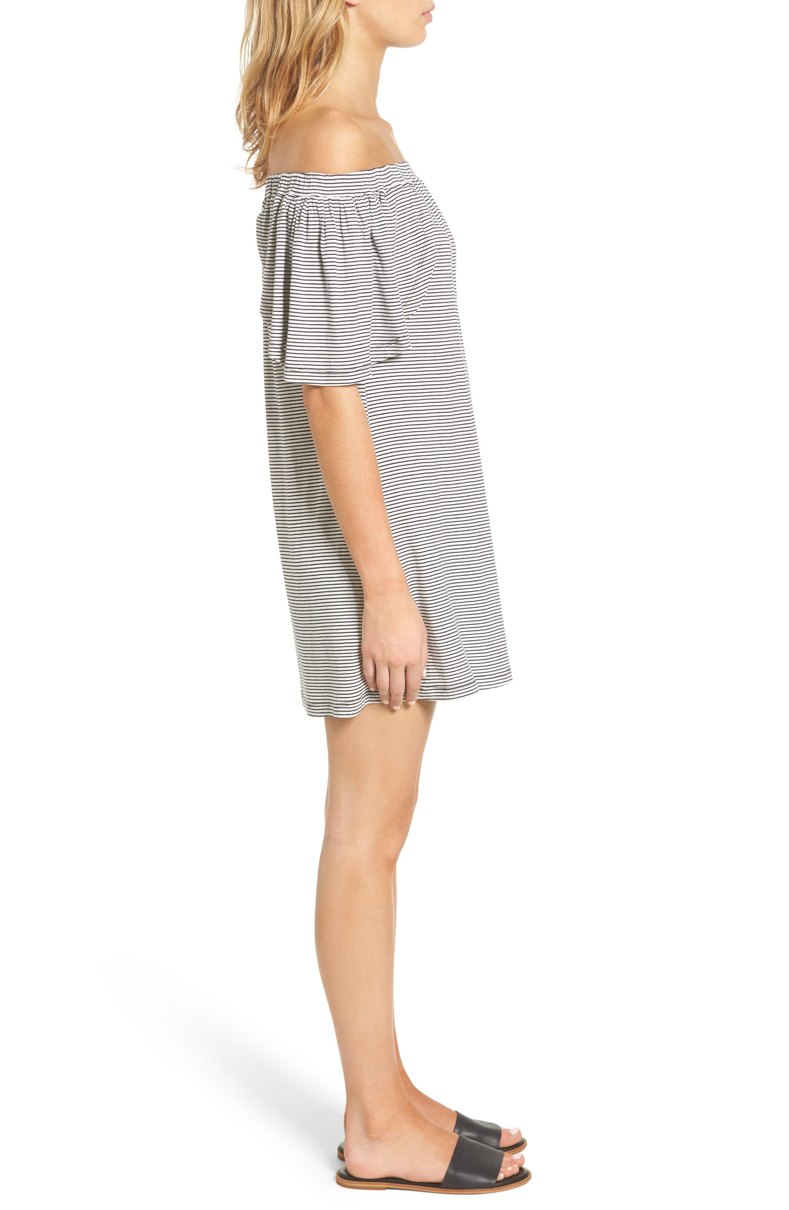 Alternate Image 3  - Delacy Marley Off the Shoulder Minidress