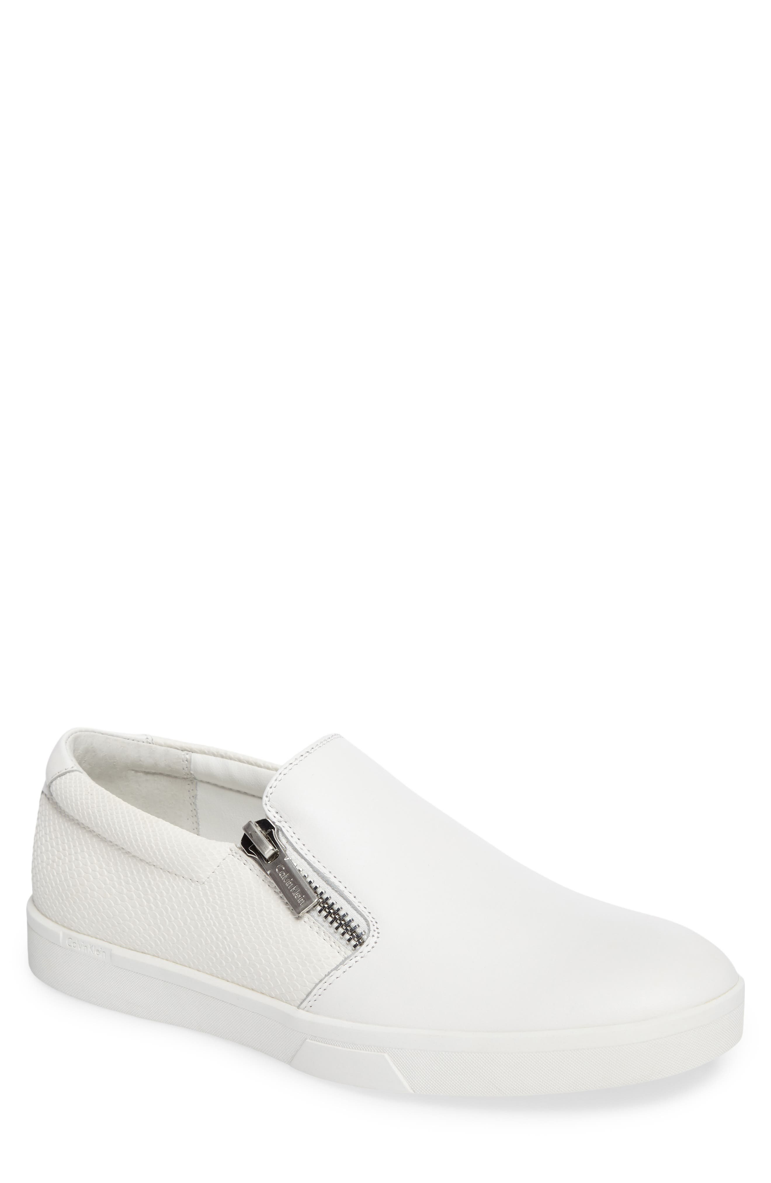 Calvin Klein Ibiza Slip-On Zip Sneaker (Men)