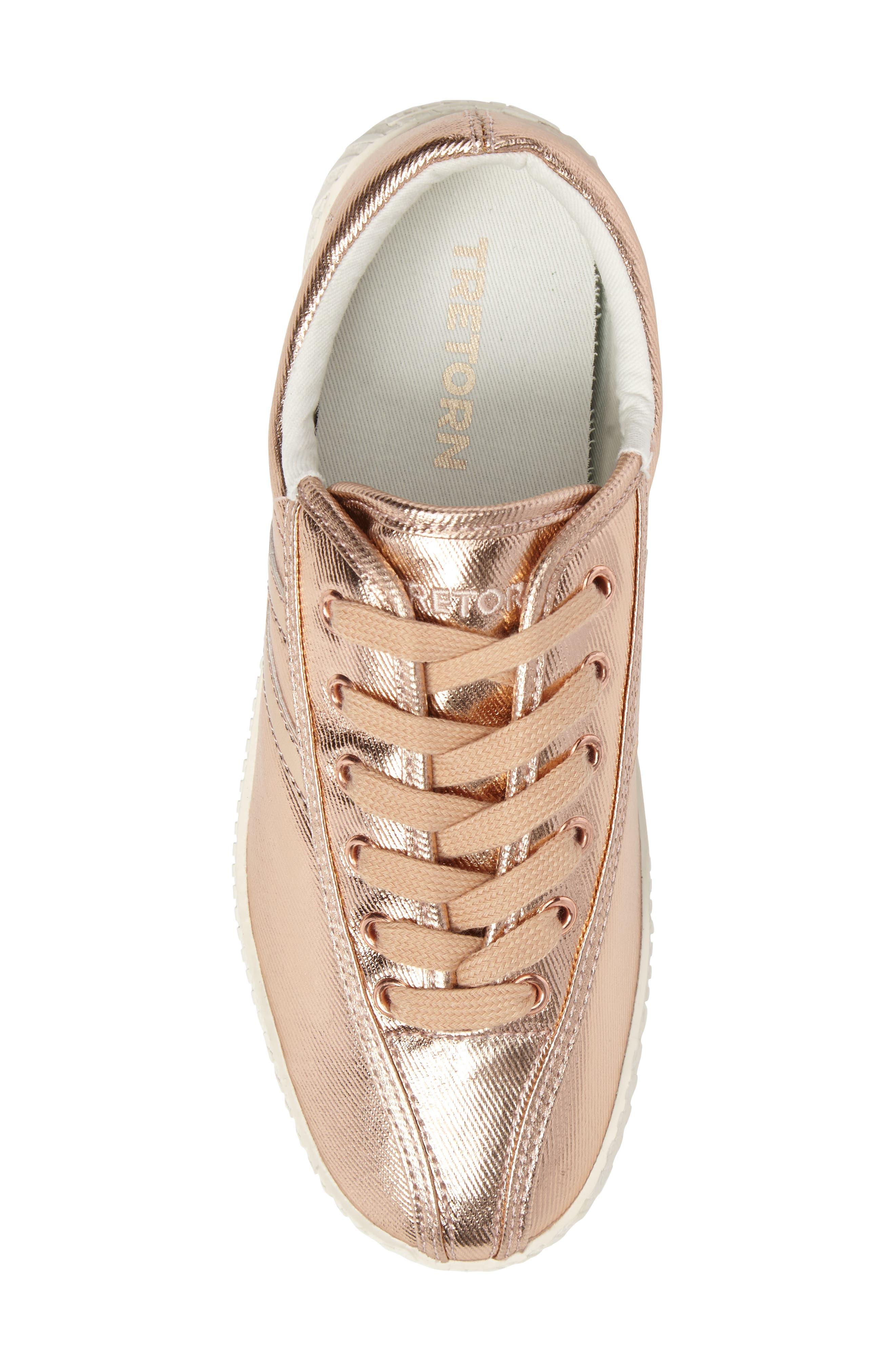 Nylite Plus Sneaker,                             Alternate thumbnail 5, color,                             Rose Gold/ Rose Gold