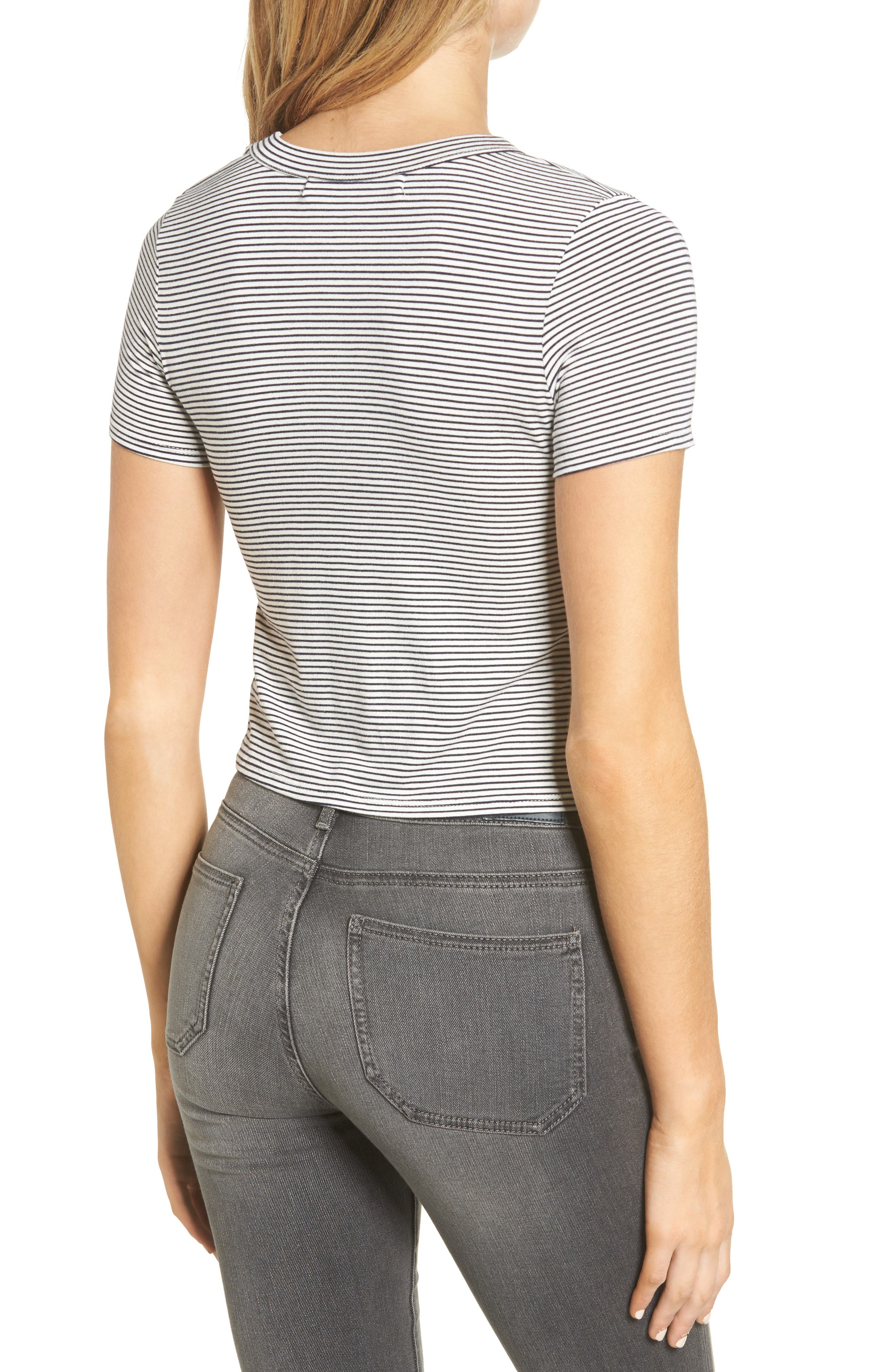 Alternate Image 2  - Delacy York Knot Front Top