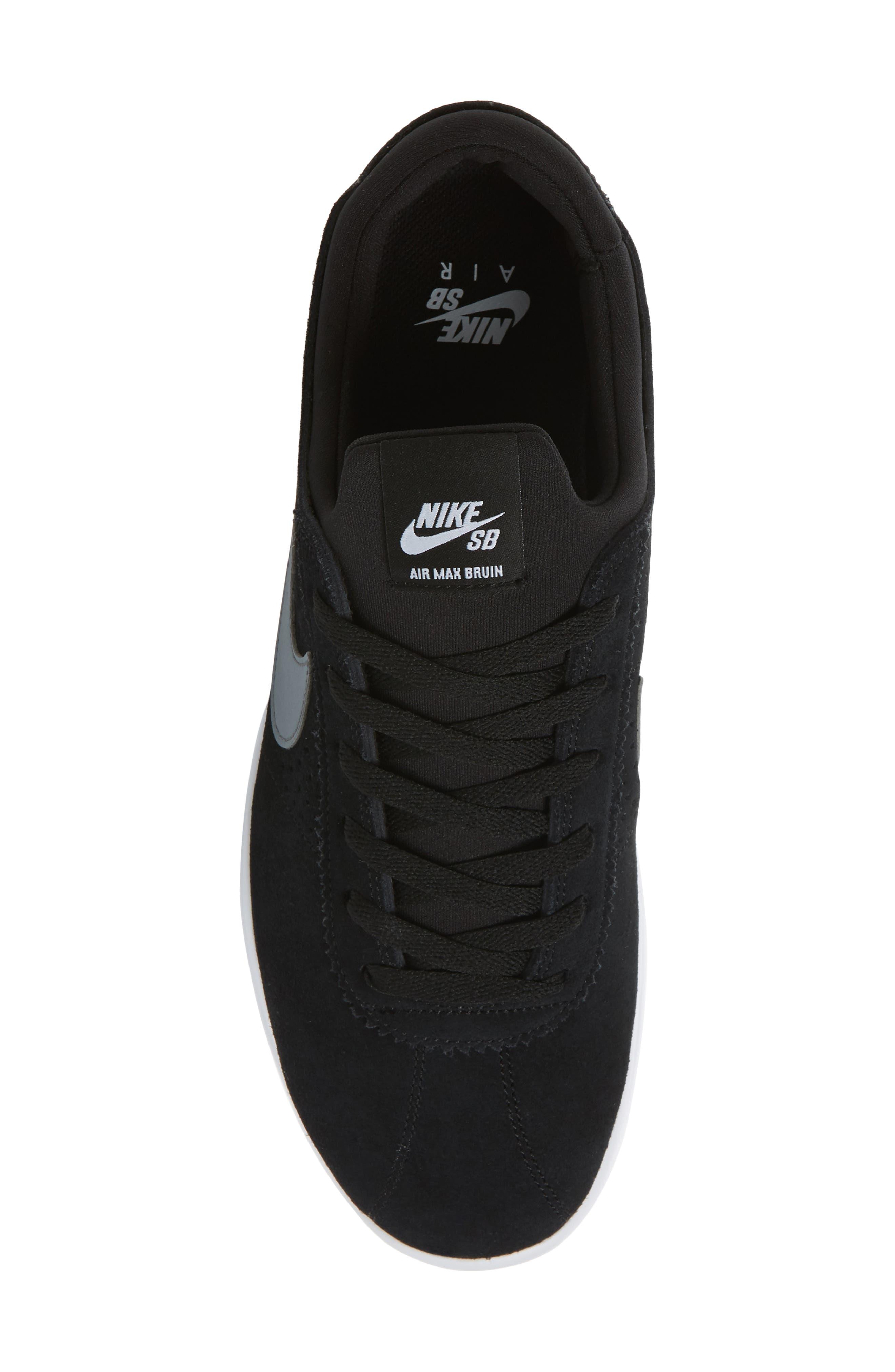 Alternate Image 5  - Nike SB Air Max Bruin Vapor Skateboarding Sneaker (Men)