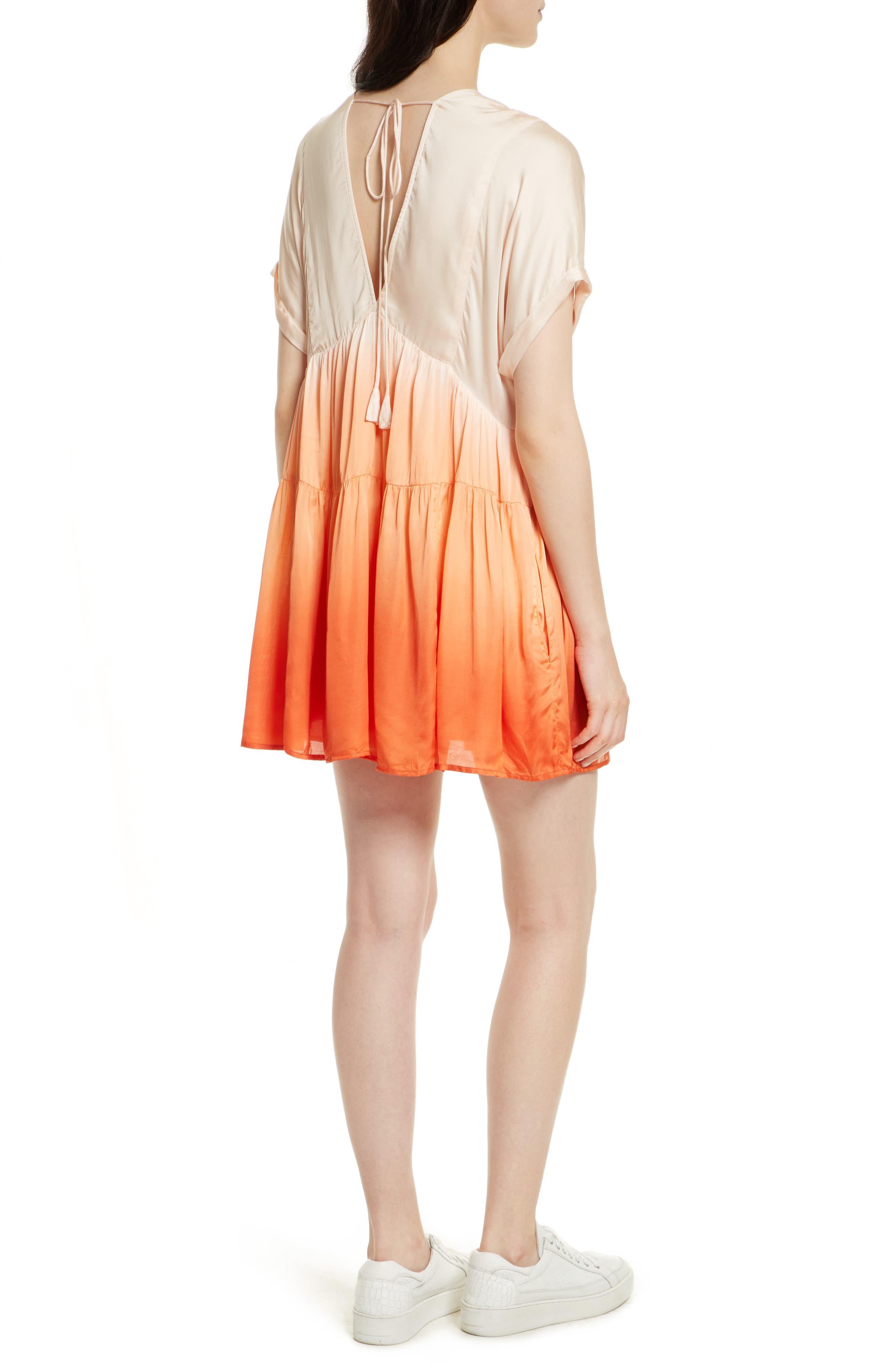 Alternate Image 2  - Free People Sun Up Tie Dye Tunic Dress