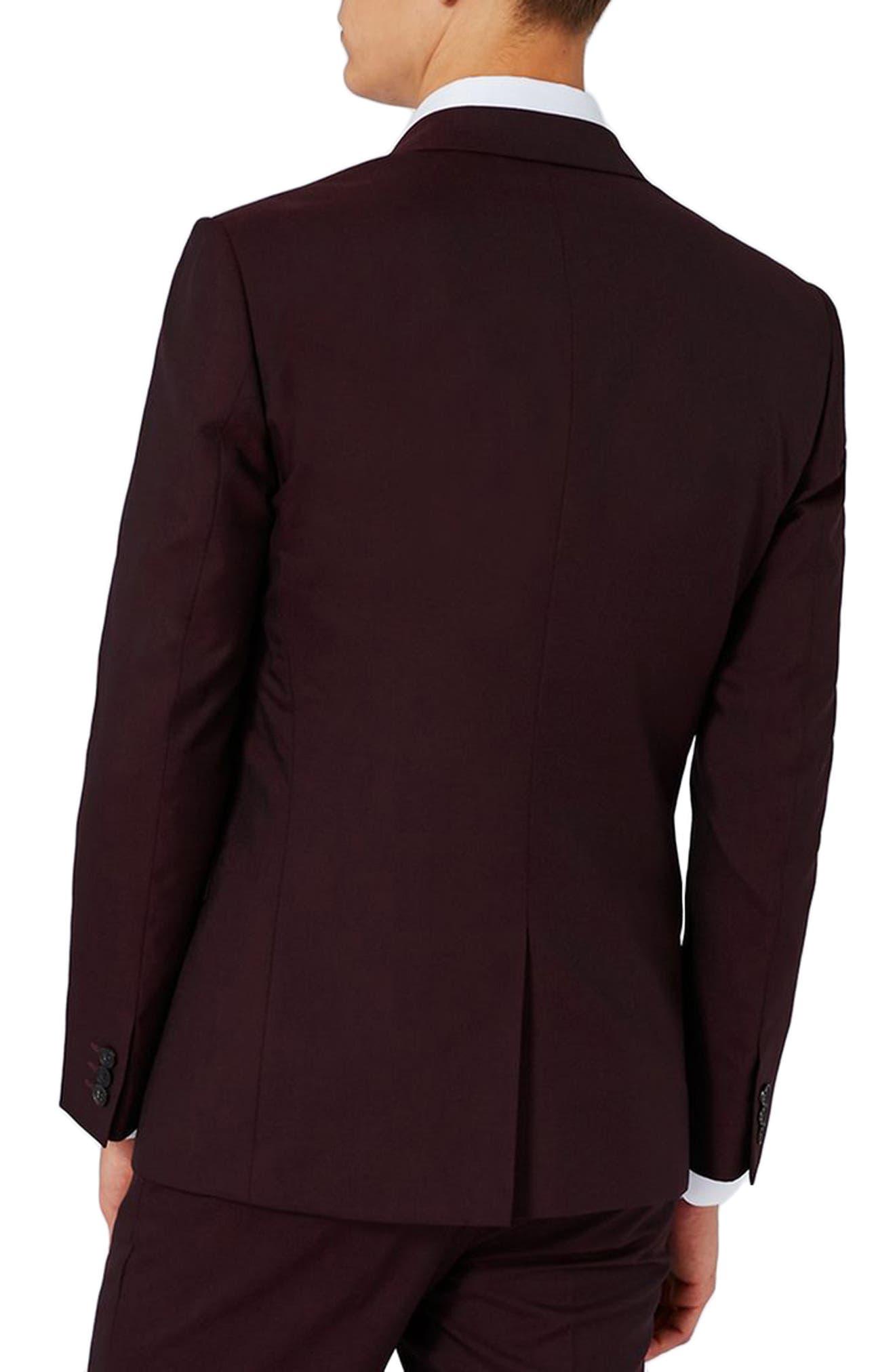 Alternate Image 3  - Charlie Casely-Hayford x Topman Skinny Fit Suit Jacket