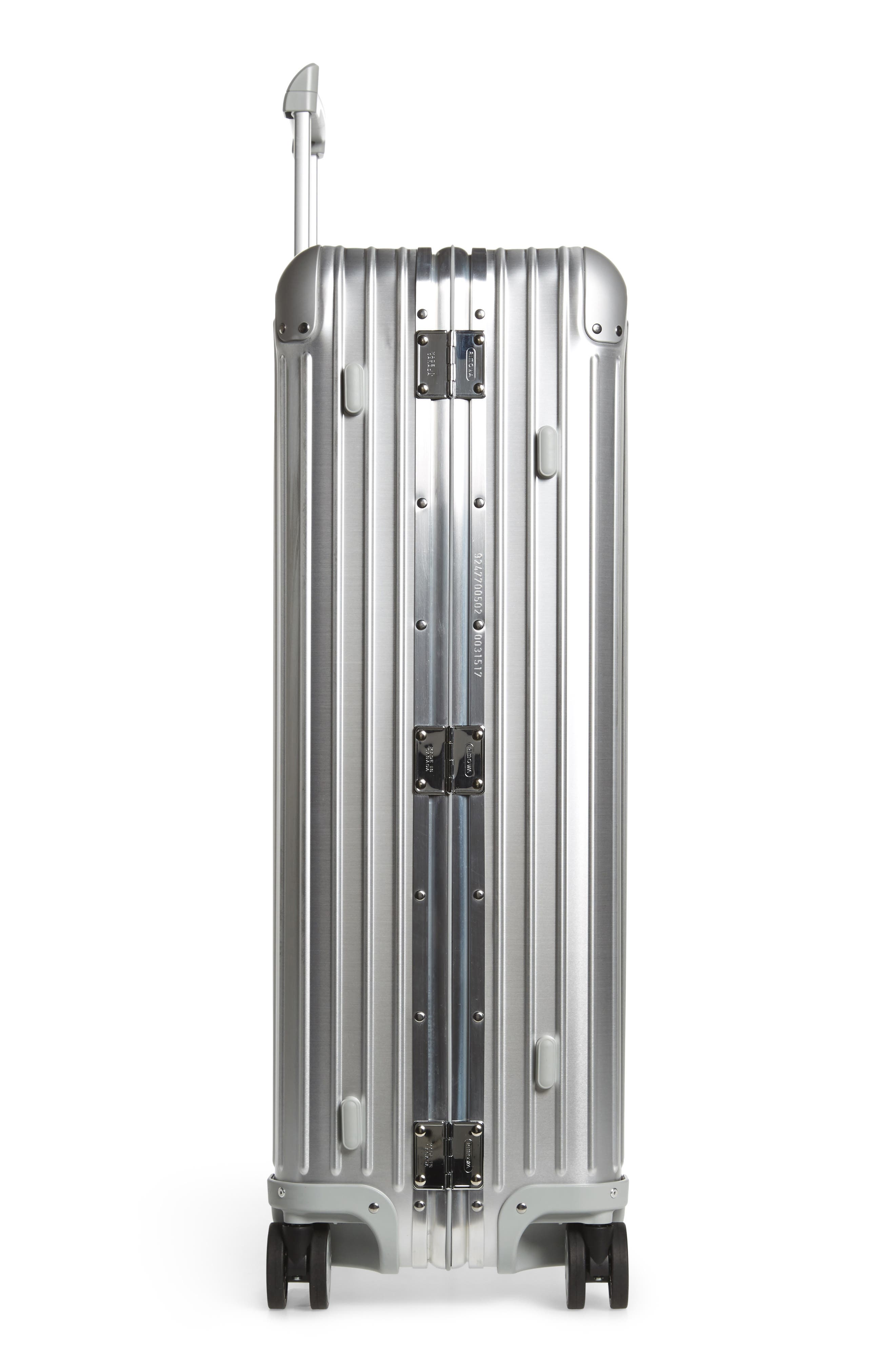 Alternate Image 3  - RIMOWA Topas 32-Inch Sport Multiwheel® Aluminum Packing Case with Electronic Tag