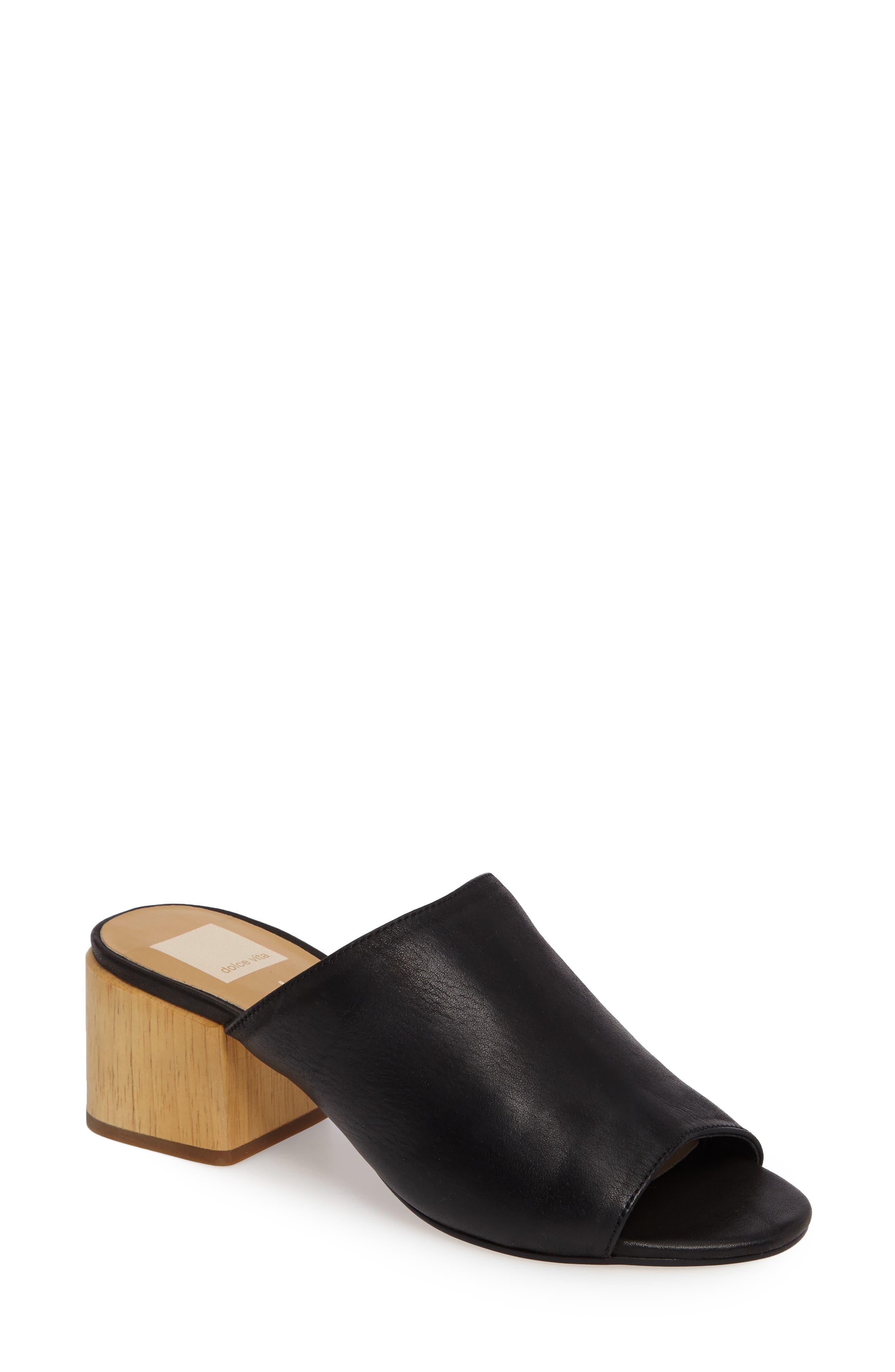 DOLCE VITA Shena Block Heel Slide Sandal