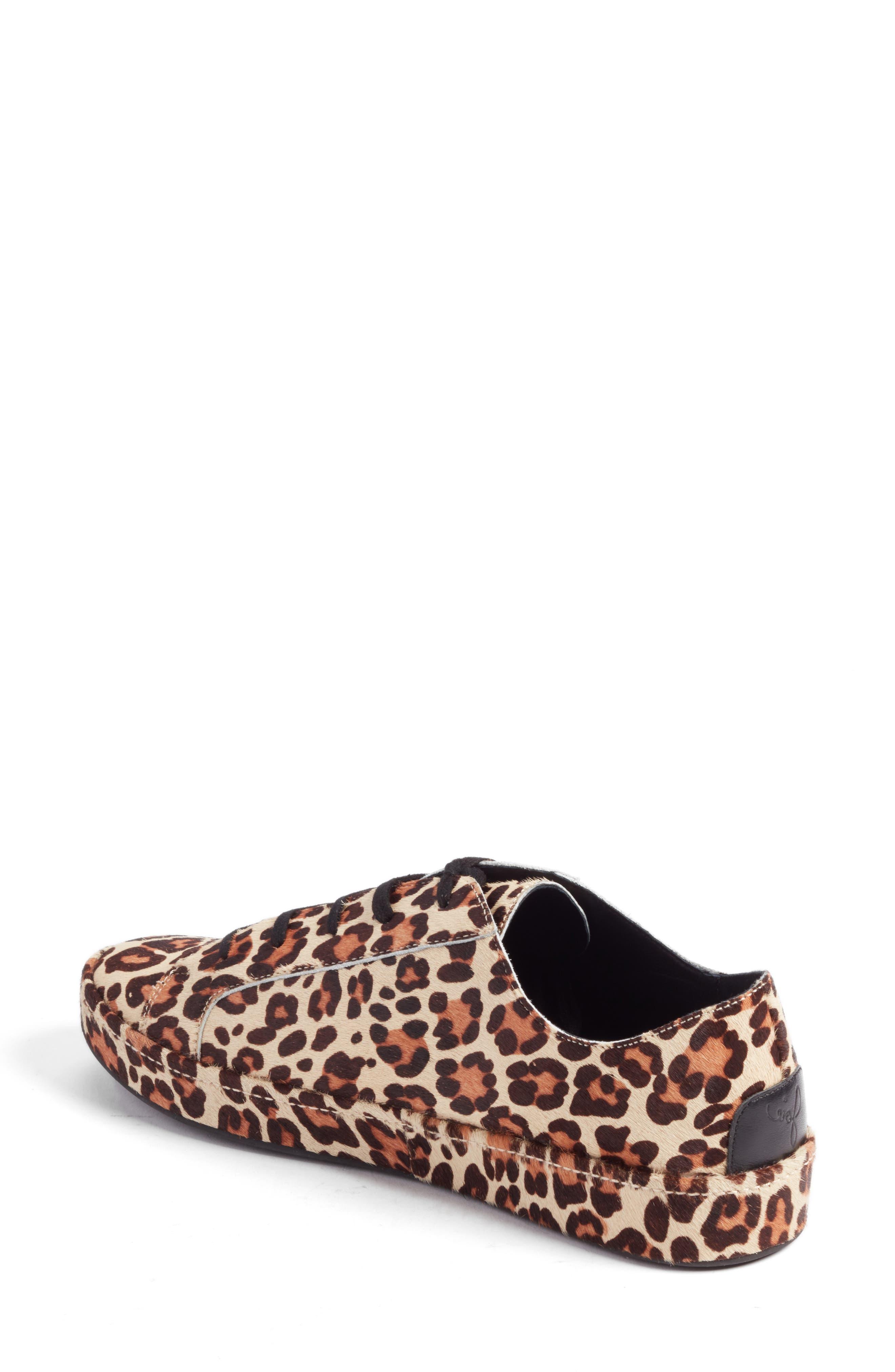 Alternate Image 2  - Joie Daryl Low Top Genuine Calf Hair Sneaker (Women)