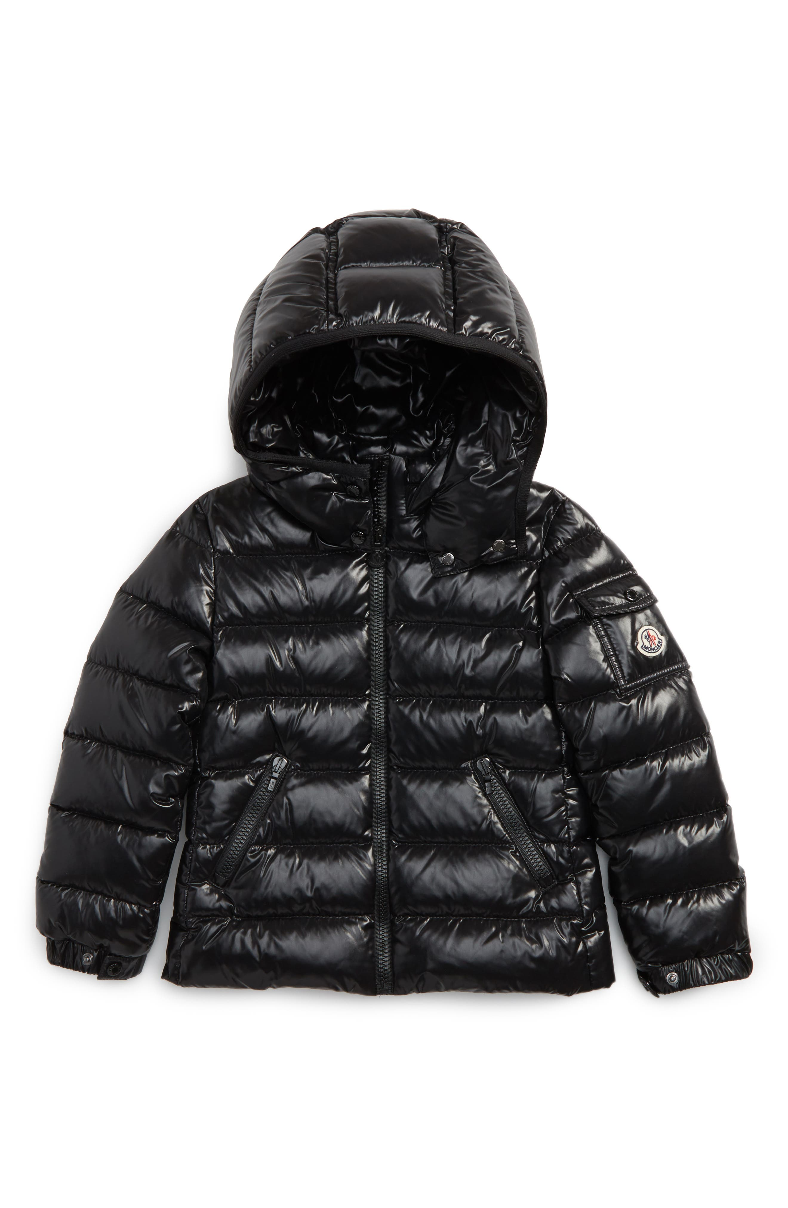 Alternate Image 1 Selected - Moncler Bady Hooded Down Jacket (Toddler Girls, Little Girls & Big Girls)